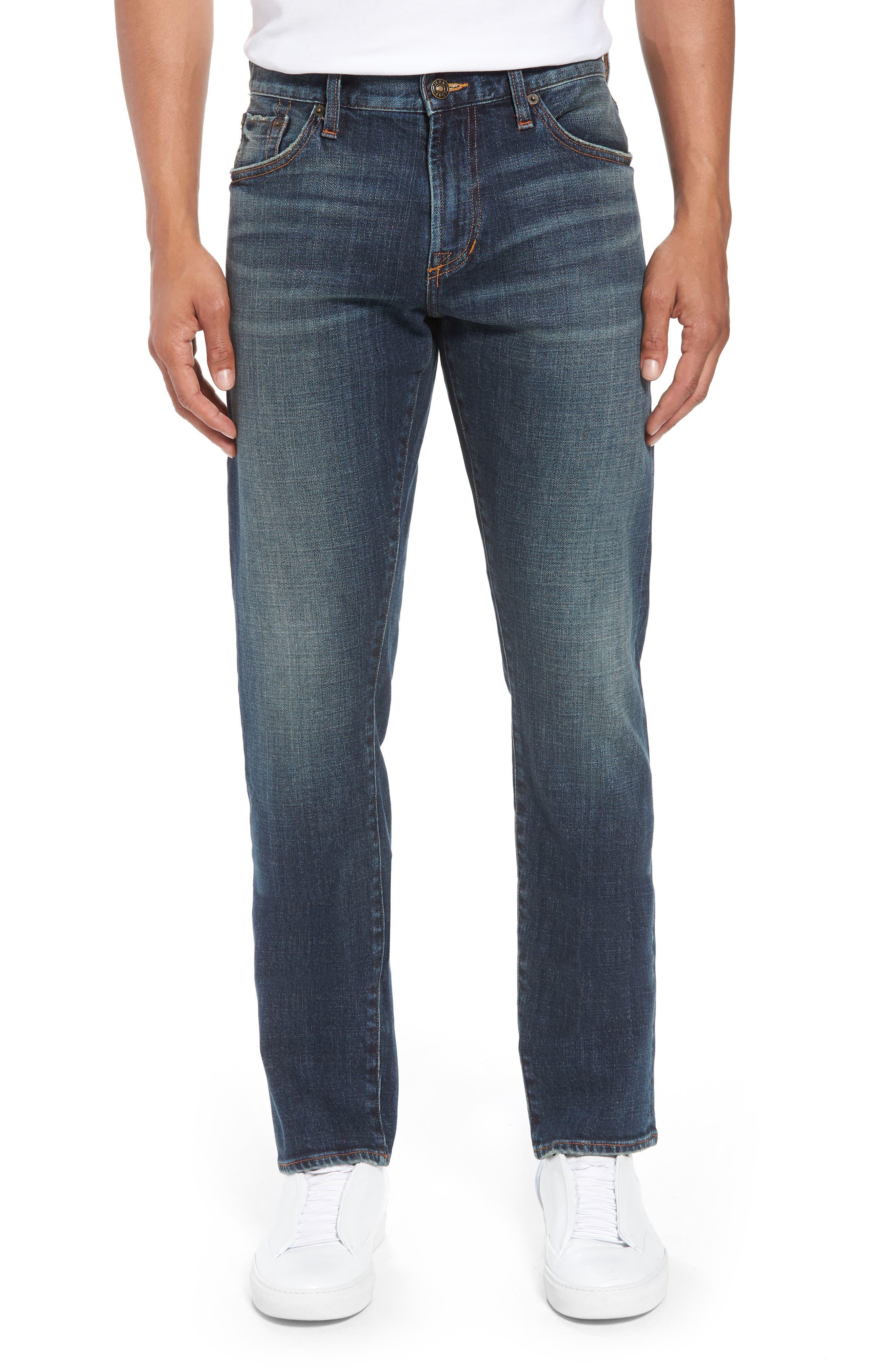 Mick Slim Straight Leg Jeans,                             Main thumbnail 1, color,                             Filmore