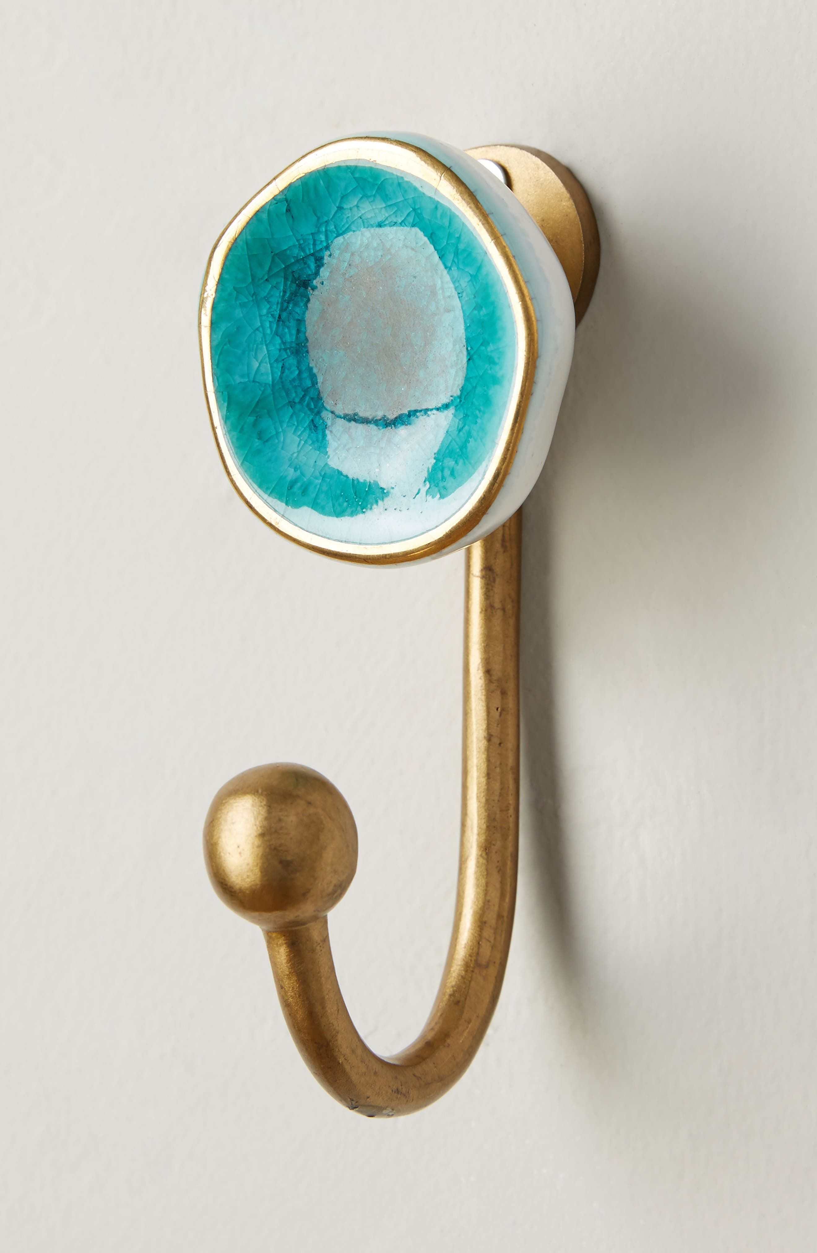 Ocean Crater Hook,                             Alternate thumbnail 2, color,                             Turquoise