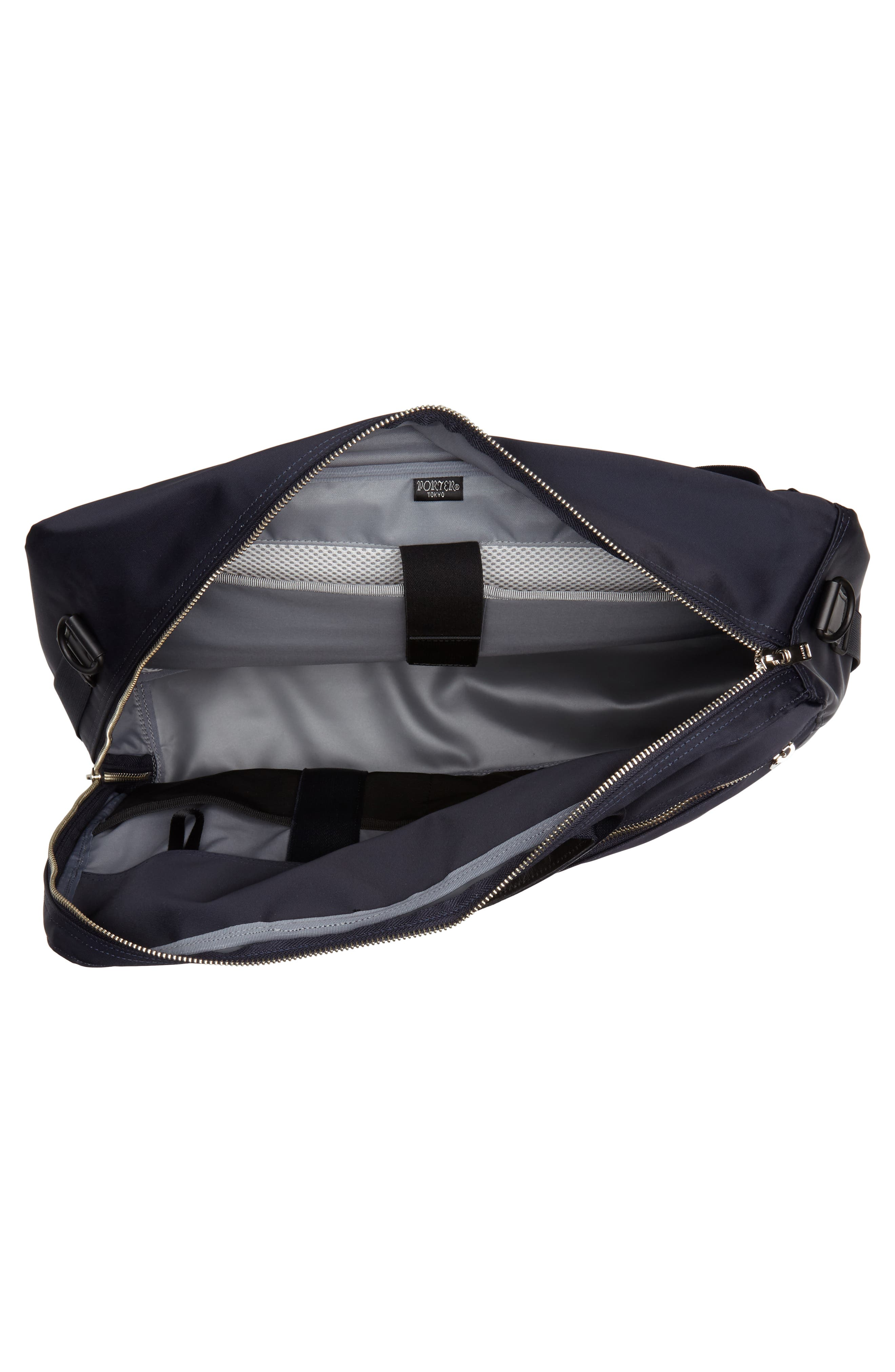 Porter-Yoshida & Co. Lift Convertible Briefcase,                             Alternate thumbnail 4, color,                             Navy