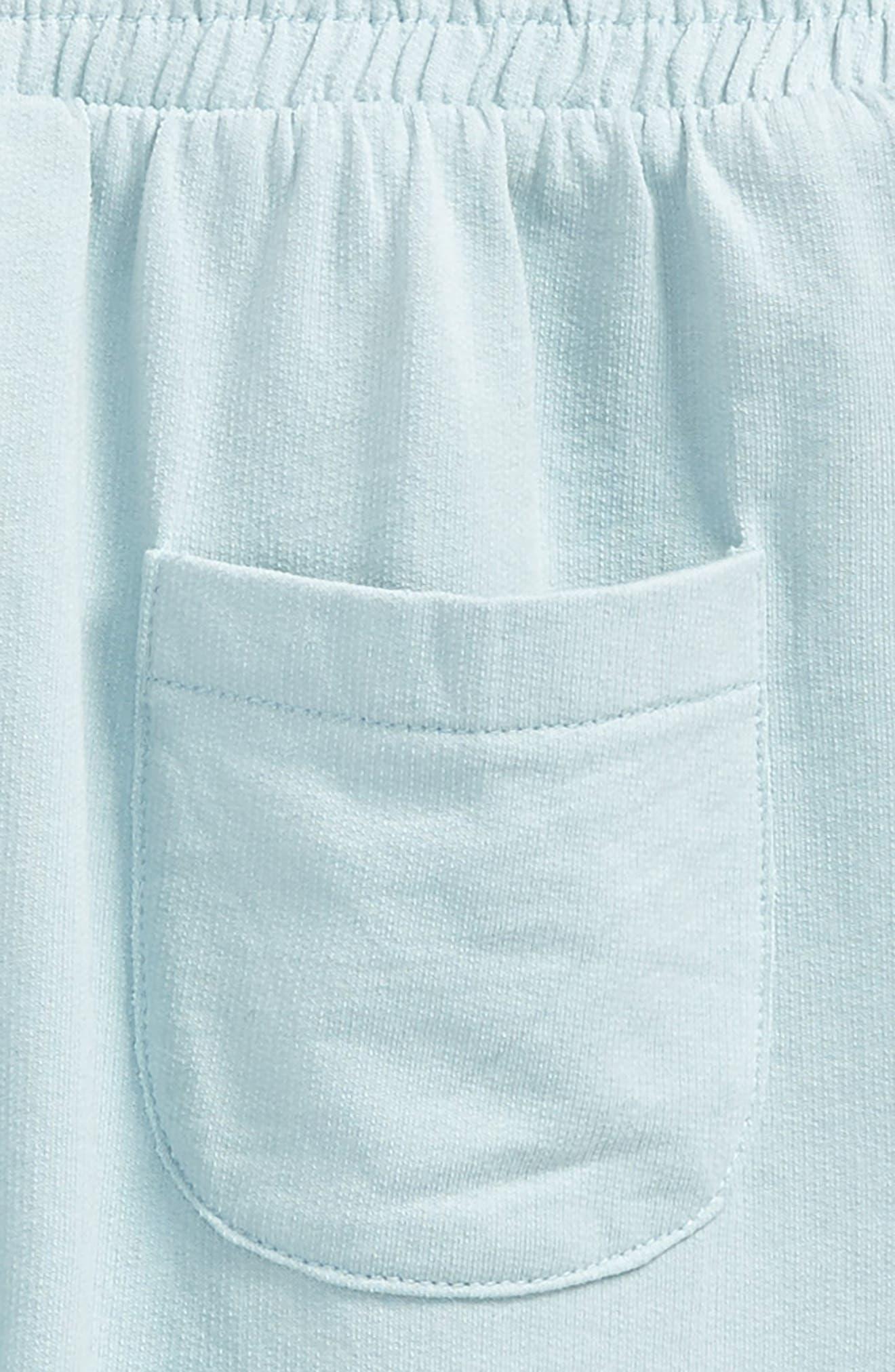 Wide Leg Sweatpants,                             Alternate thumbnail 3, color,                             Blue Sterling