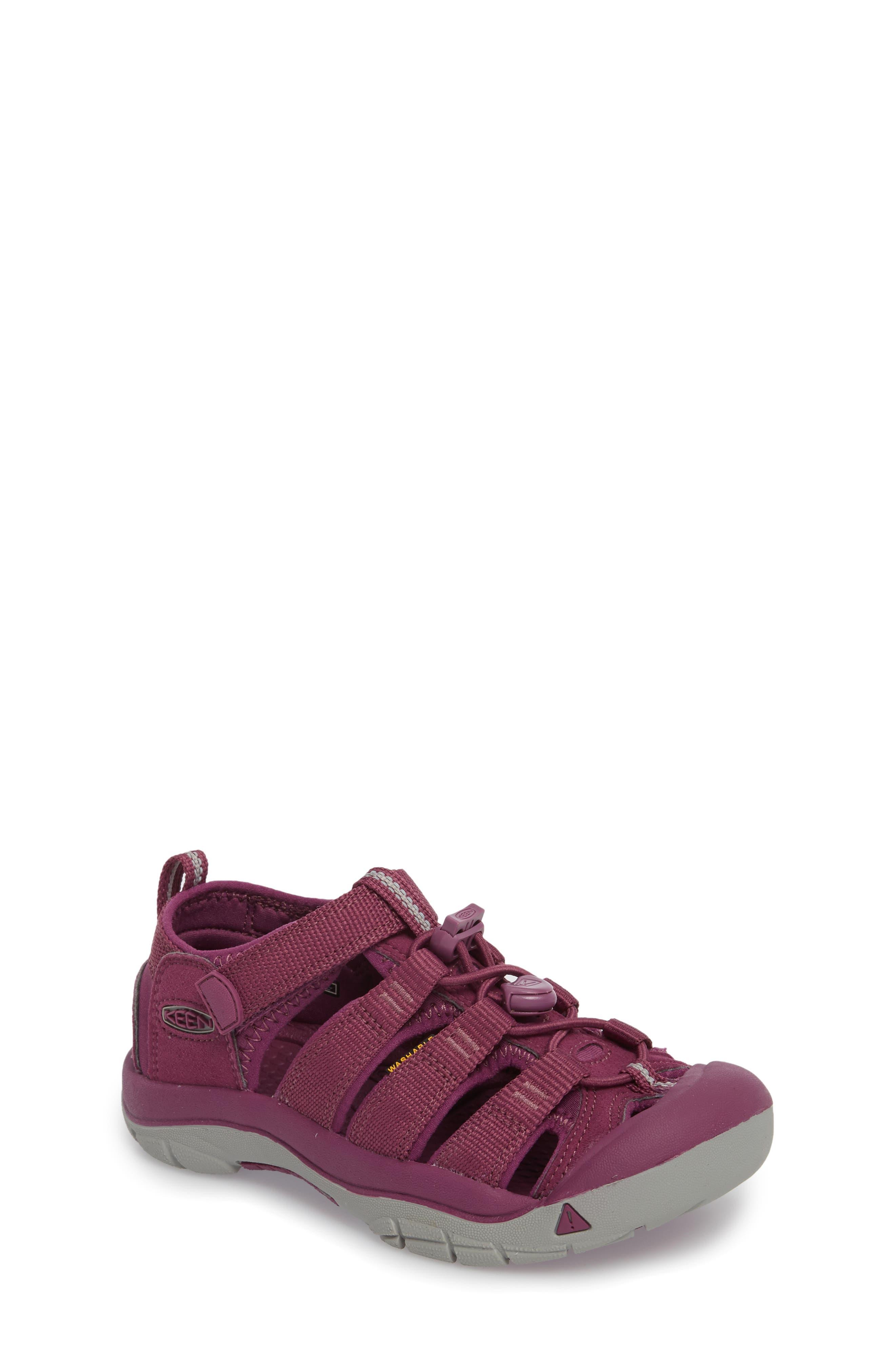 'Newport H2' Water Friendly Sandal,                             Main thumbnail 1, color,                             Grape Kiss