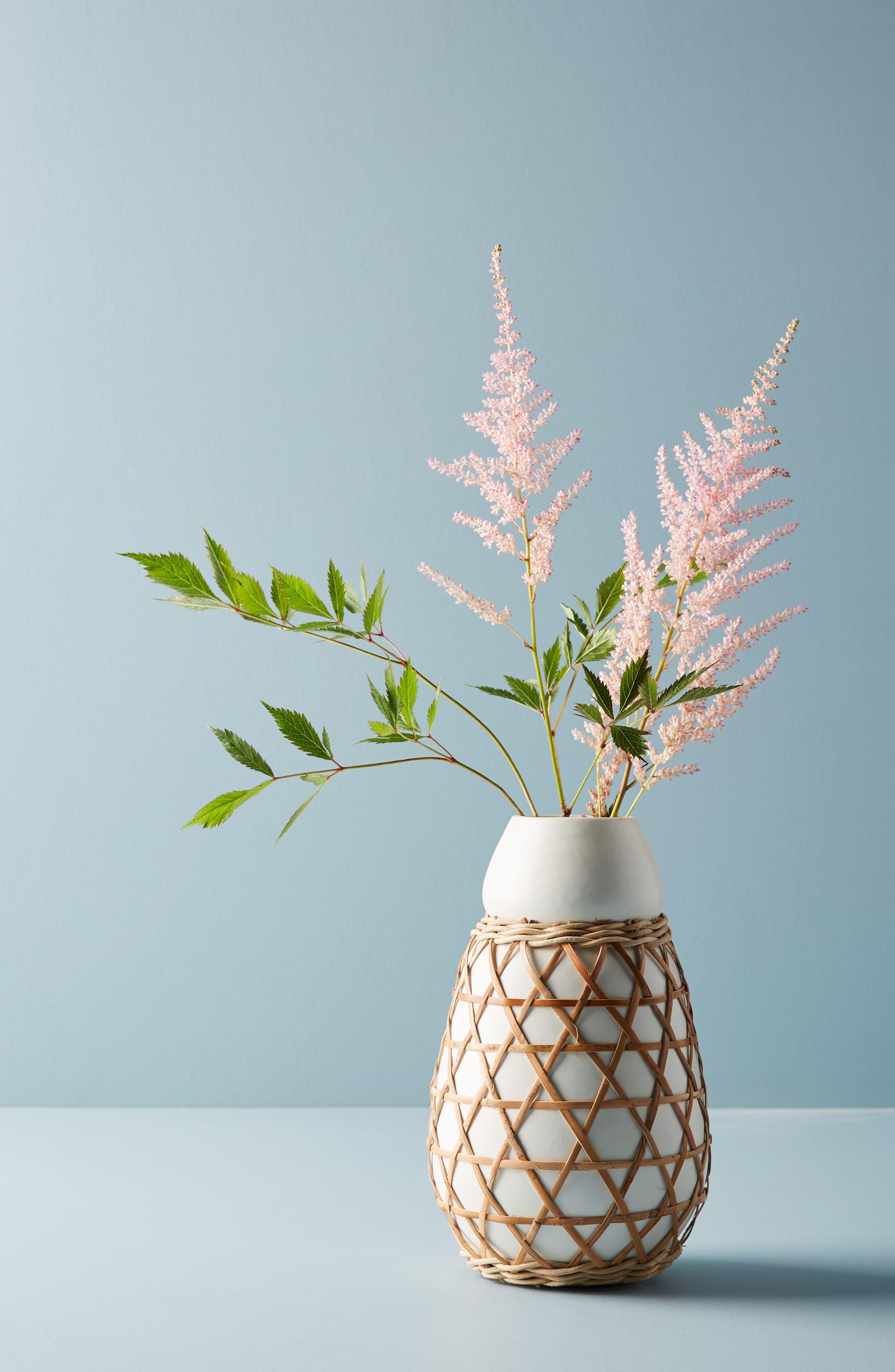 Woven Grass Vase,                             Alternate thumbnail 5, color,