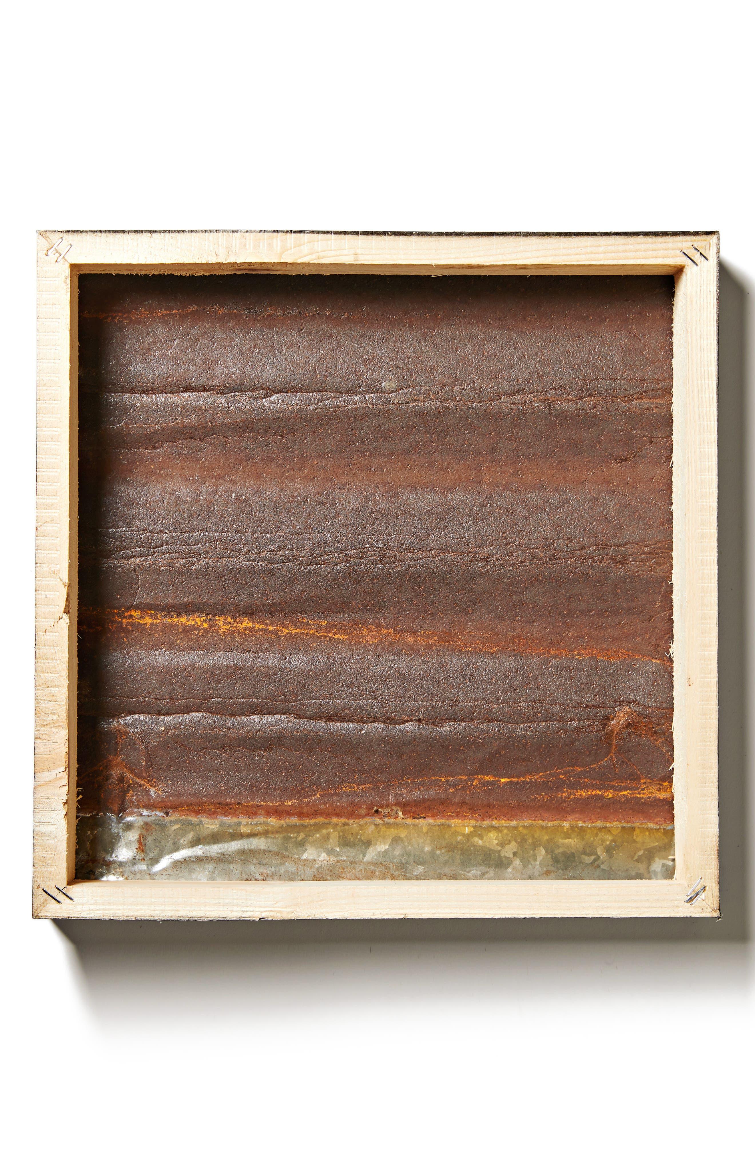 Forever & Always Repurposed Wood & Steel Wall Art,                             Alternate thumbnail 2, color,                             Copper
