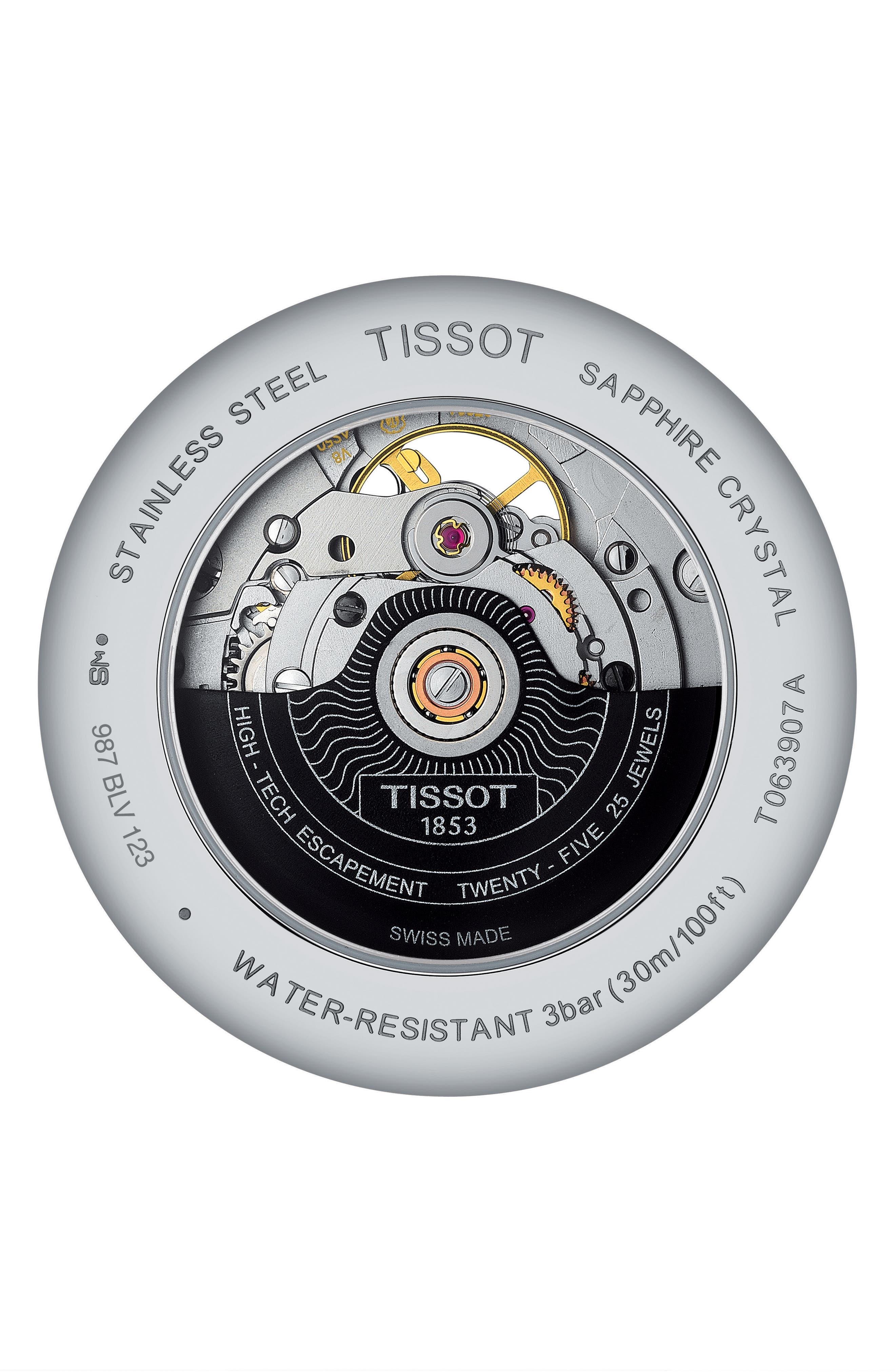 Alternate Image 2  - Tissot Tradition Bracelet Watch, 40mm