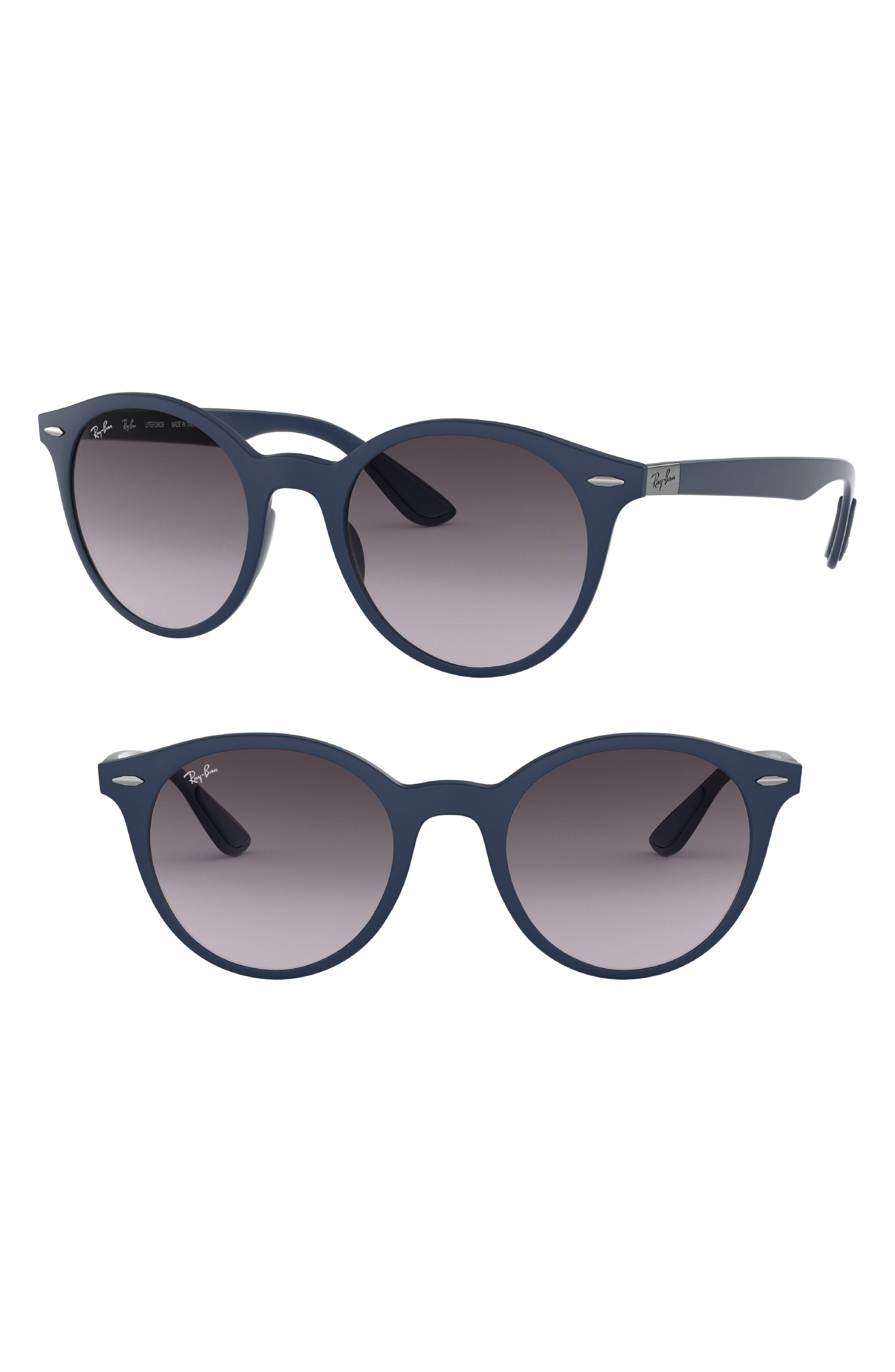 Ray-Ban Phantos 50mm Mirrored Sunglasses