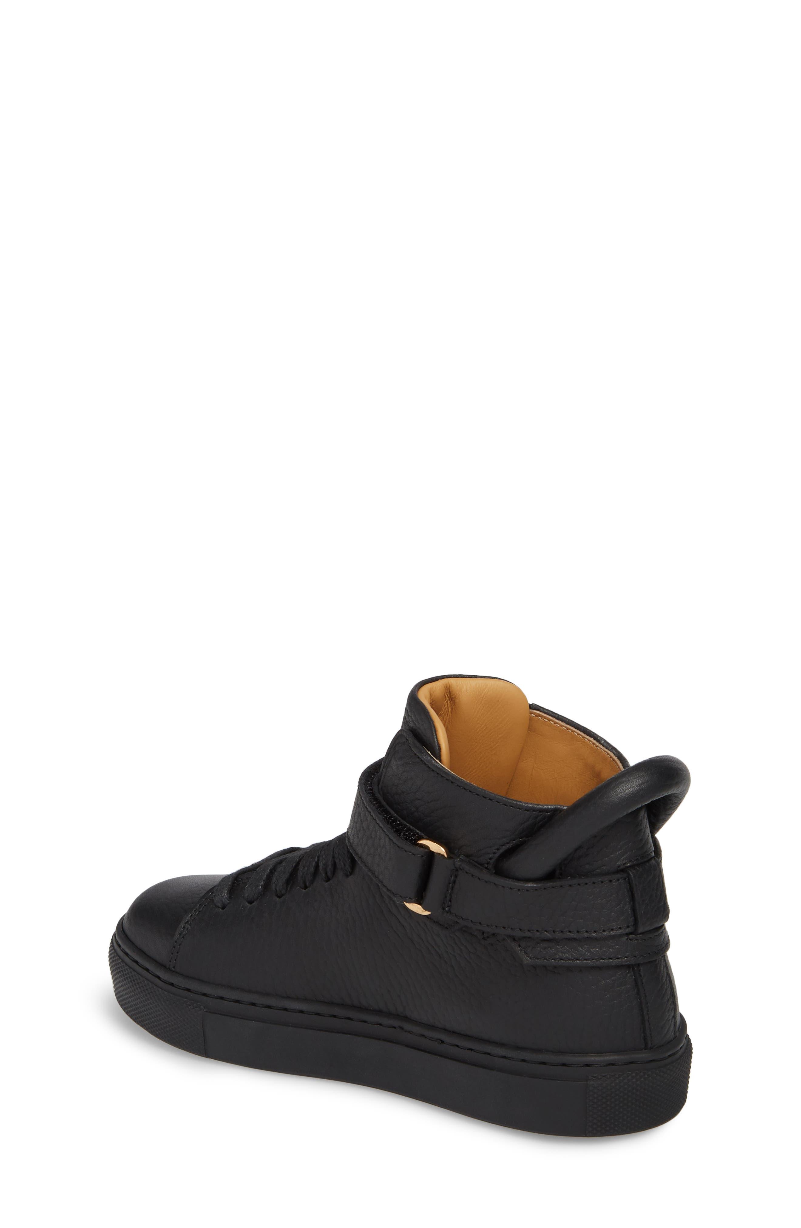 High Top Sneaker,                             Alternate thumbnail 2, color,                             Black
