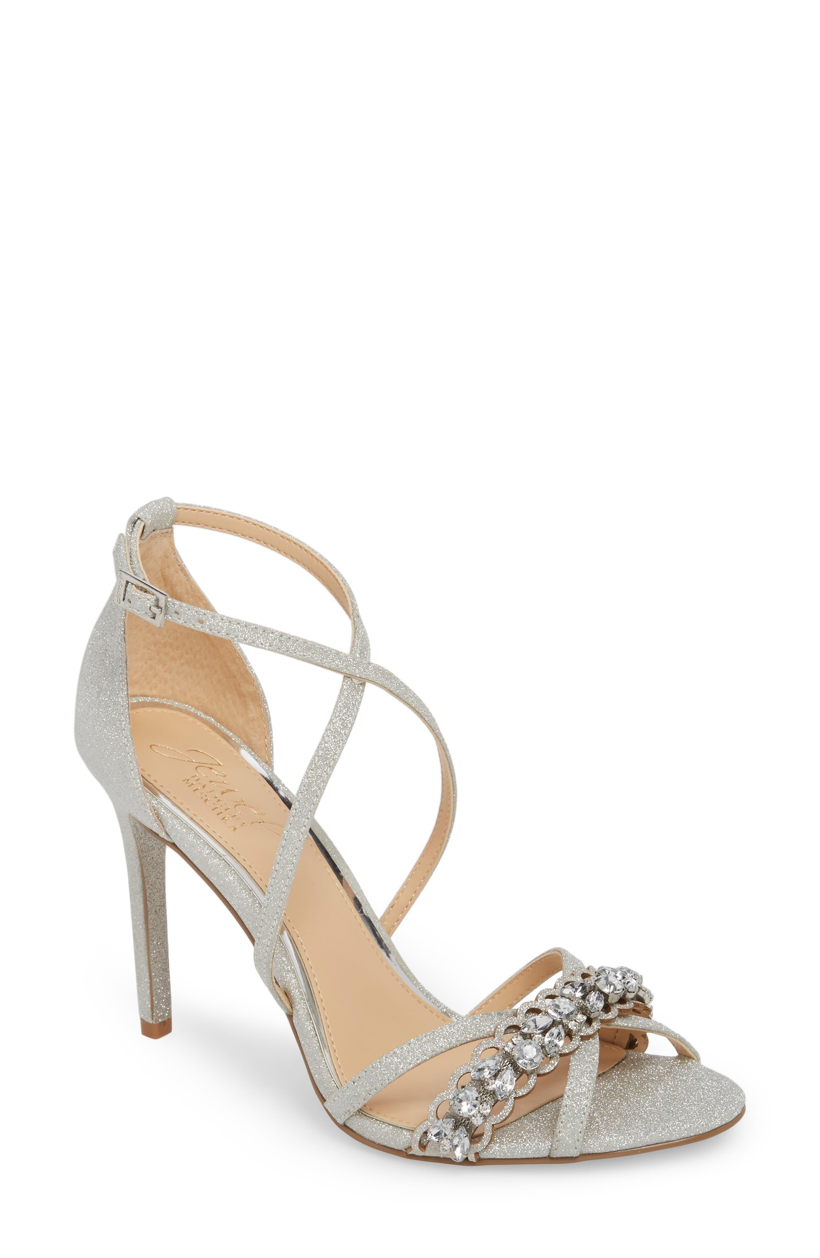 Jewel Badgley Mischka Gisele Sandal (Women)