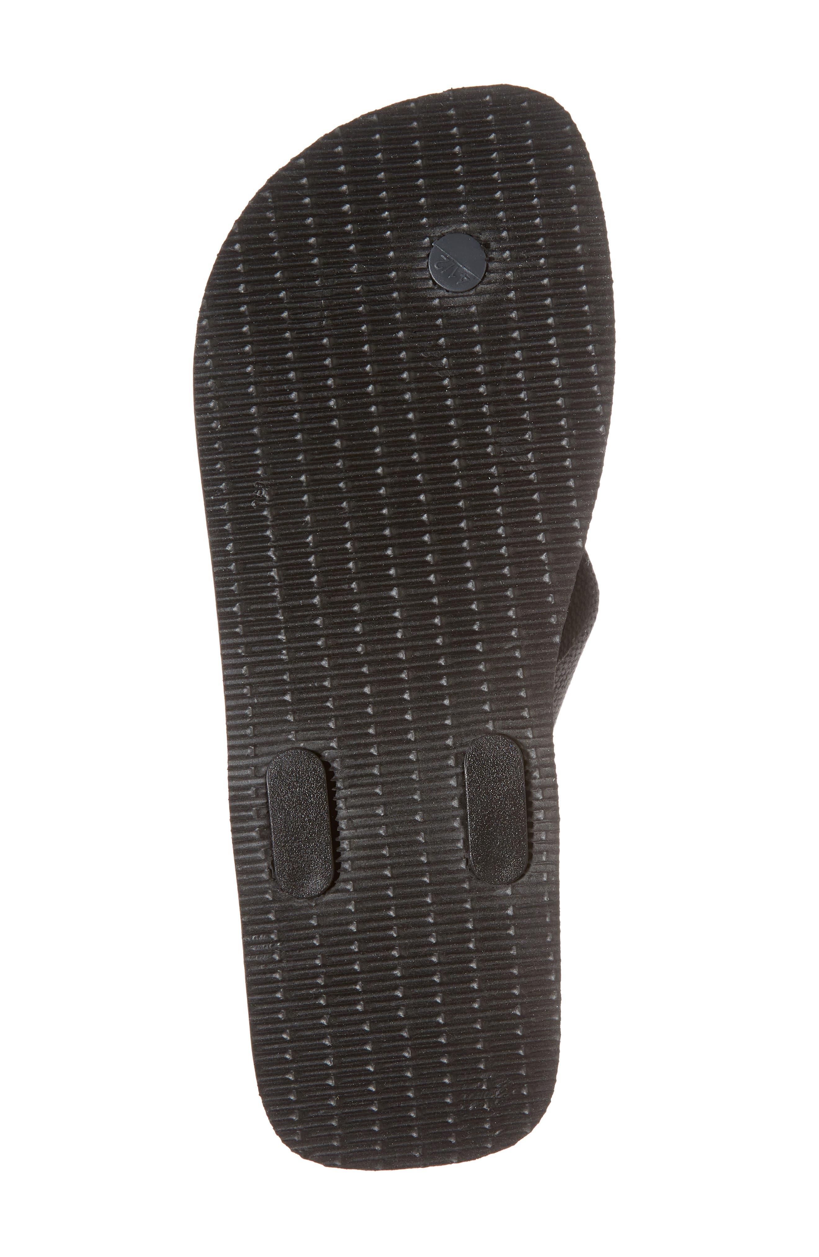 Havianas 'Urban Basic' Flip Flop,                             Alternate thumbnail 6, color,                             Black/ Grey