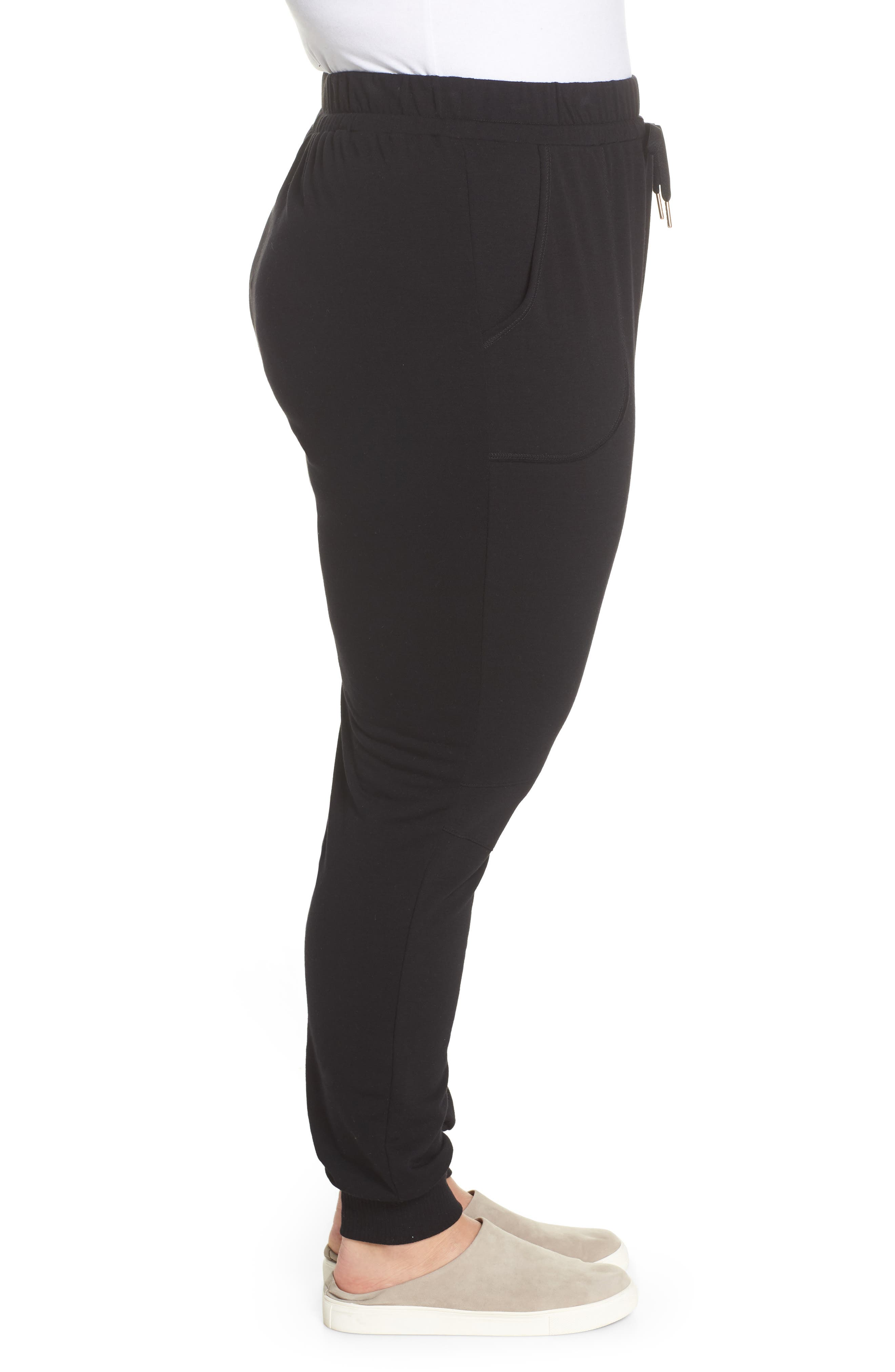 Off-Duty Stretch Jogger,                             Alternate thumbnail 3, color,                             Black