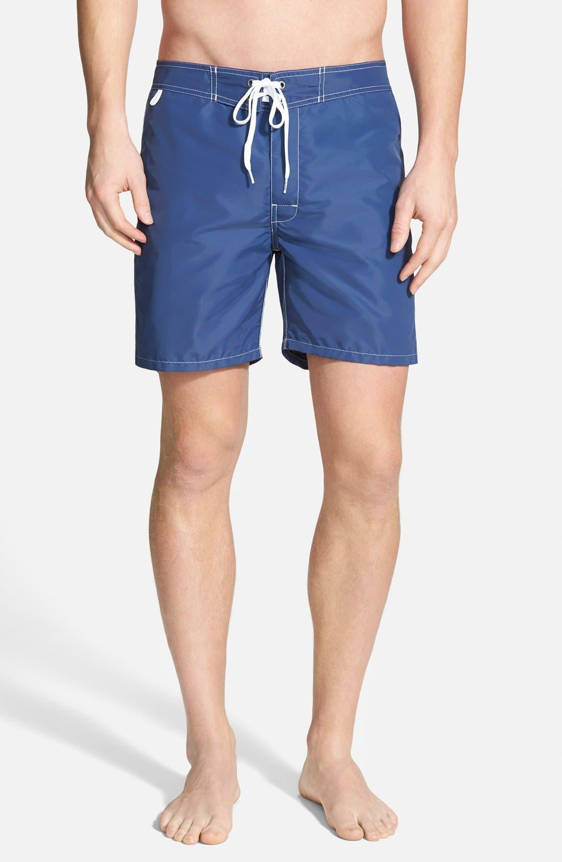 Alternate Image 2  - Sundek Volley Swim Shorts (Men) (Online Only)