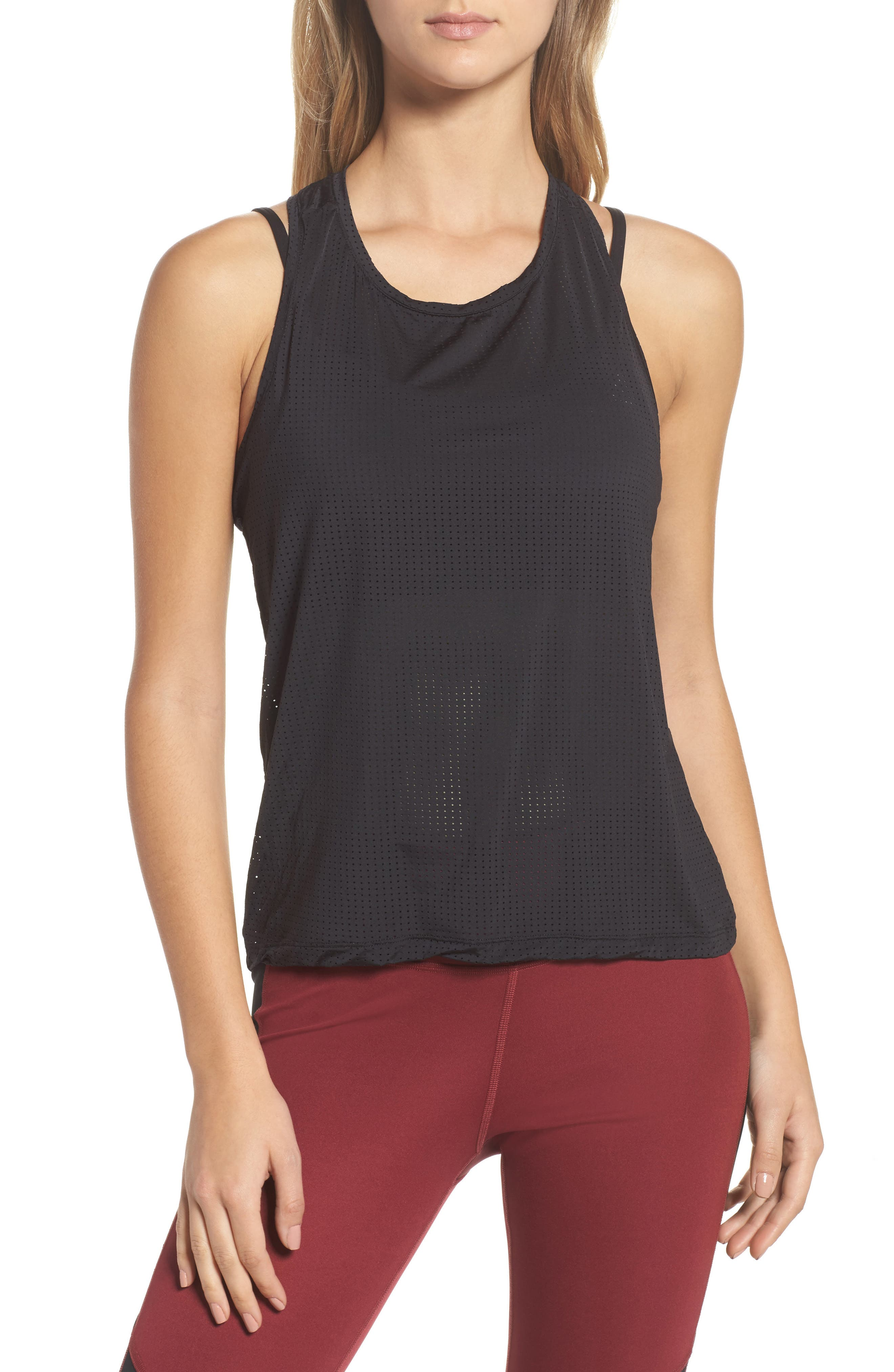 Reebok Perforated Racerback Tank