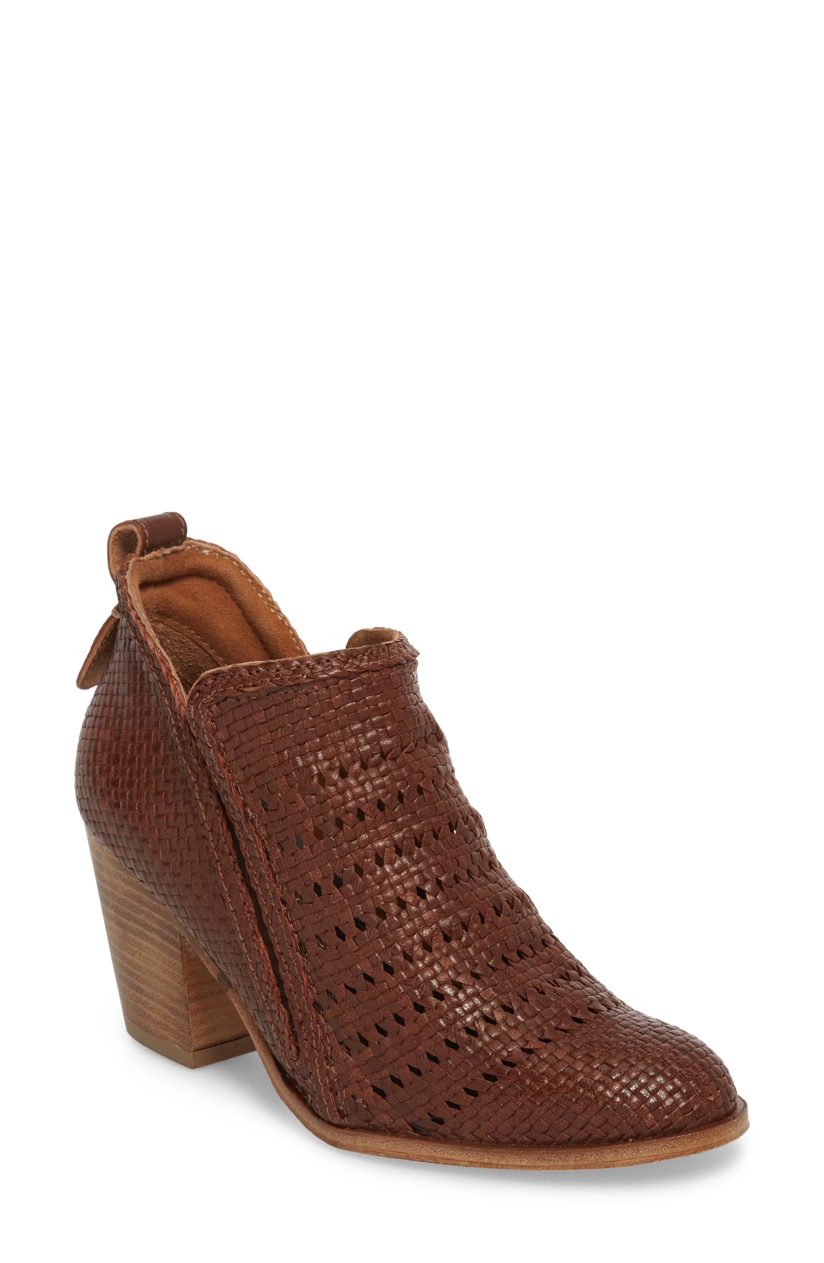 Jeffrey Campbell Burman Woven Bootie (Women)