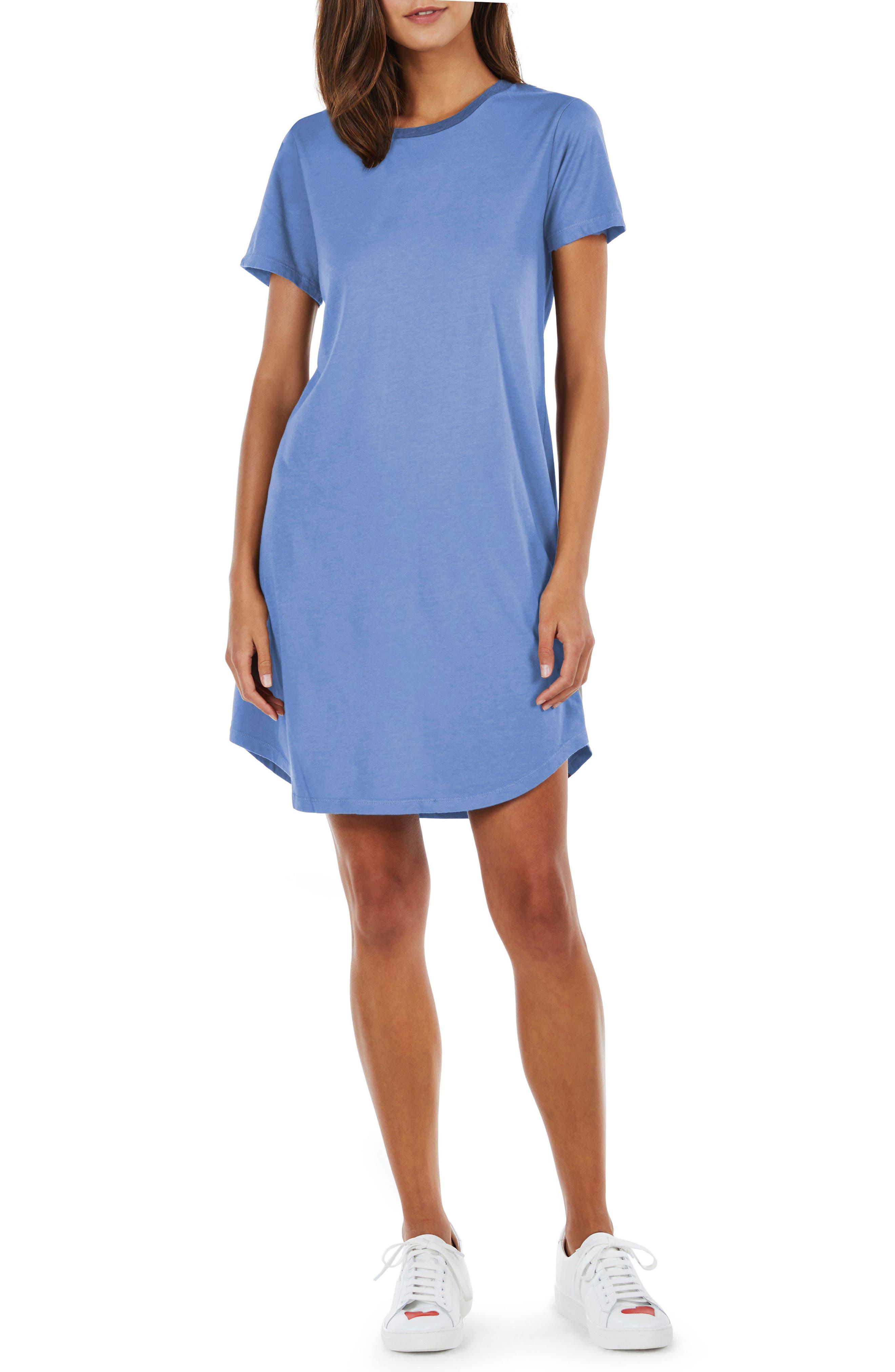 Alternate Image 1 Selected - Michael Stars Ringer T-Shirt Dress