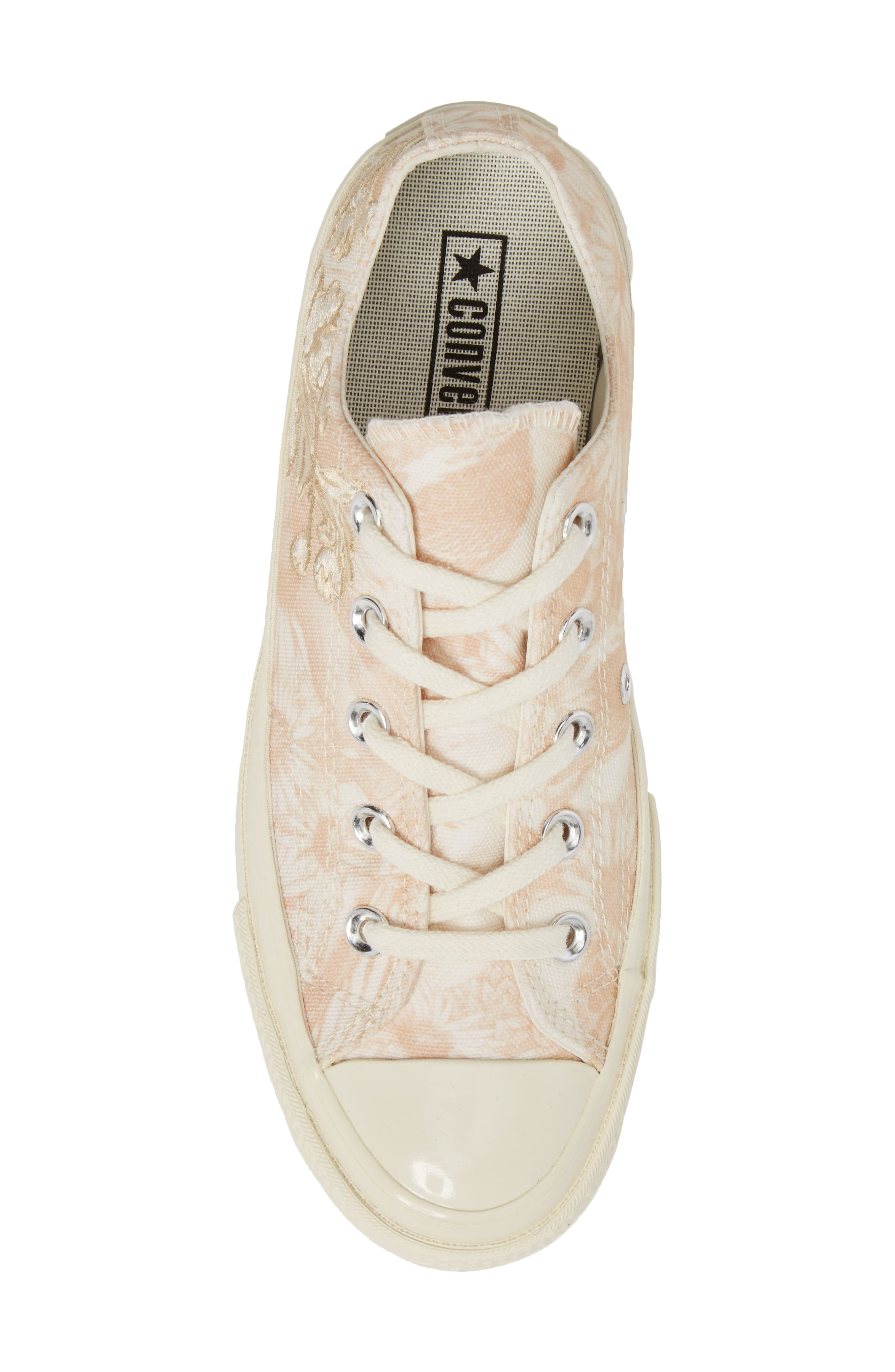 Chuck Taylor<sup>®</sup> All Star<sup>®</sup> 70 Spring Forward Sneaker,                             Alternate thumbnail 5, color,                             Egret/ Egret