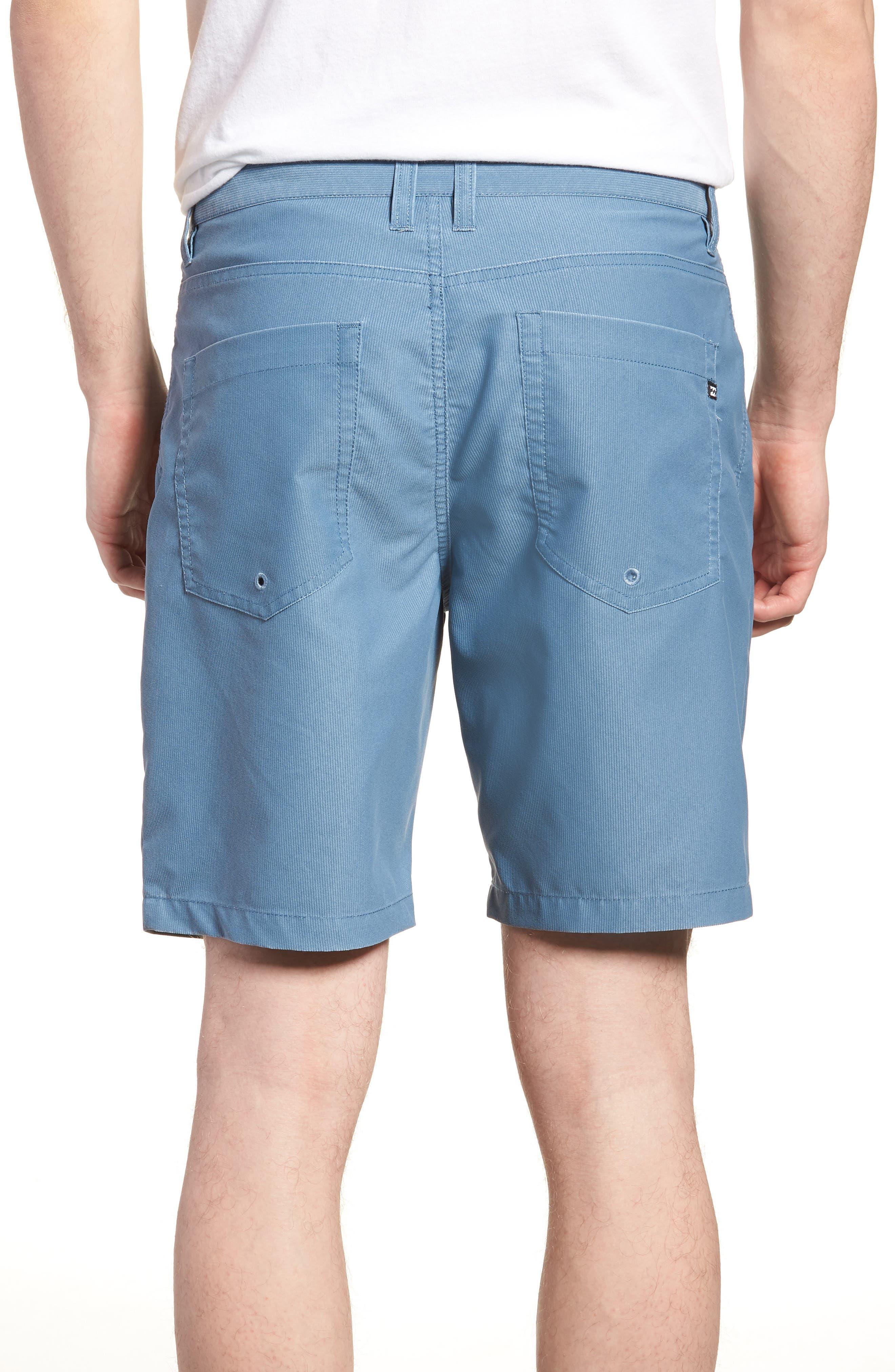 Outsider X Surf Corduroy Shorts,                             Alternate thumbnail 2, color,                             Powder Blue