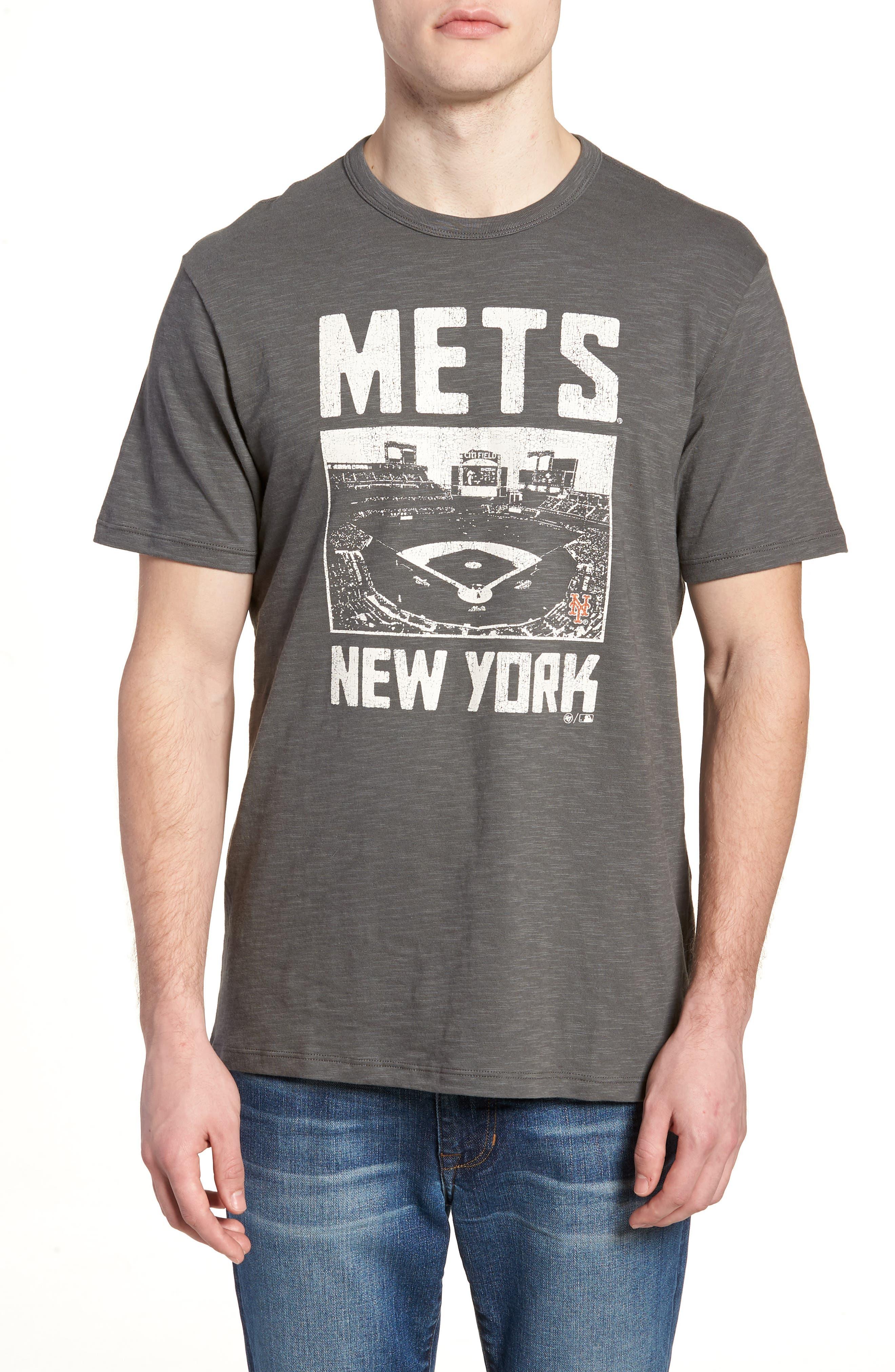 MLB Overdrive Scrum New York Mets T-Shirt,                             Main thumbnail 1, color,                             Submarine