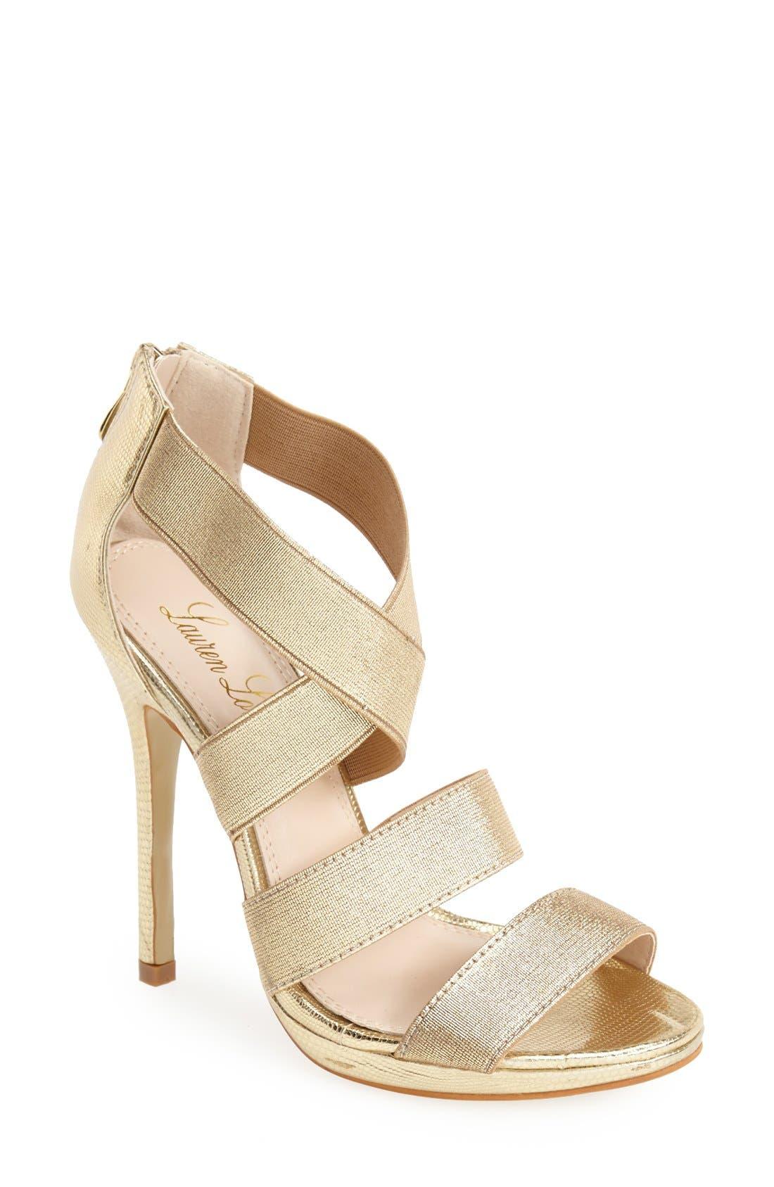 Alternate Image 1 Selected - Lauren Lorraine 'Lipsy' Platform Sandal (Women)
