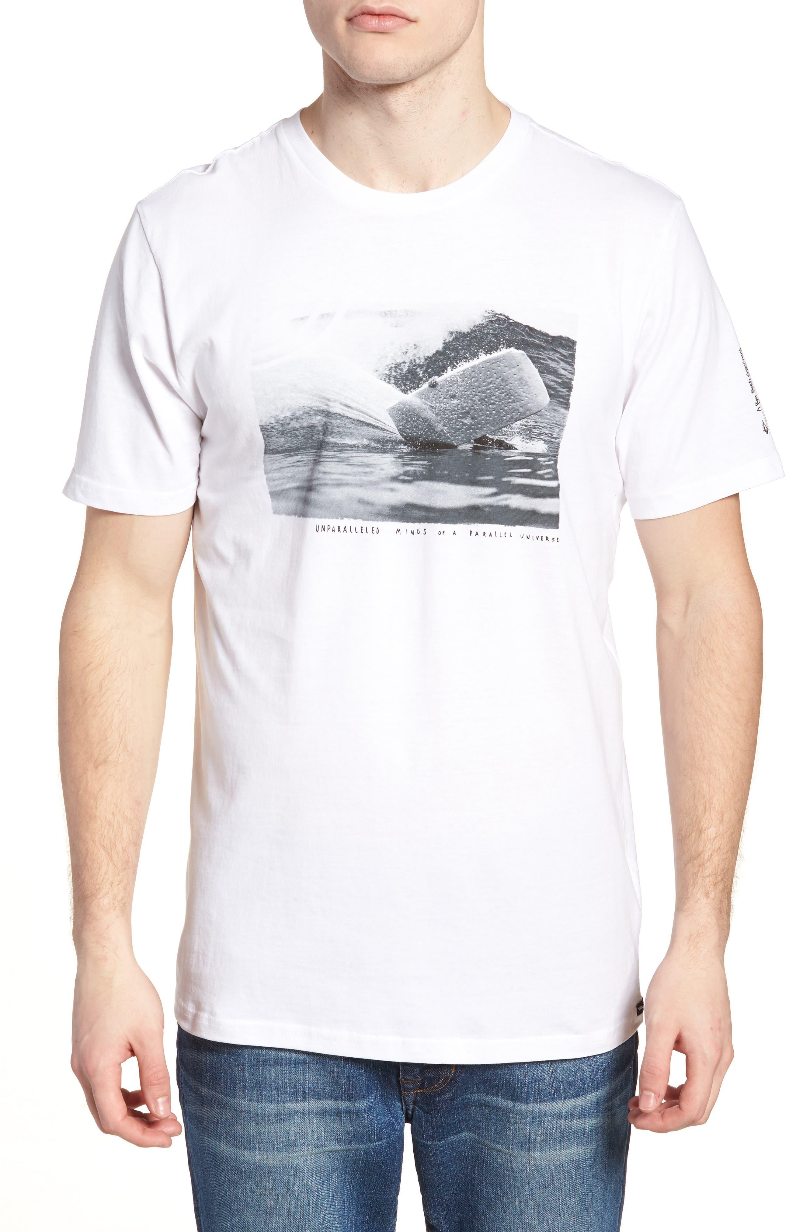 Burch Foam Graphic T-Shirt,                             Main thumbnail 1, color,                             White