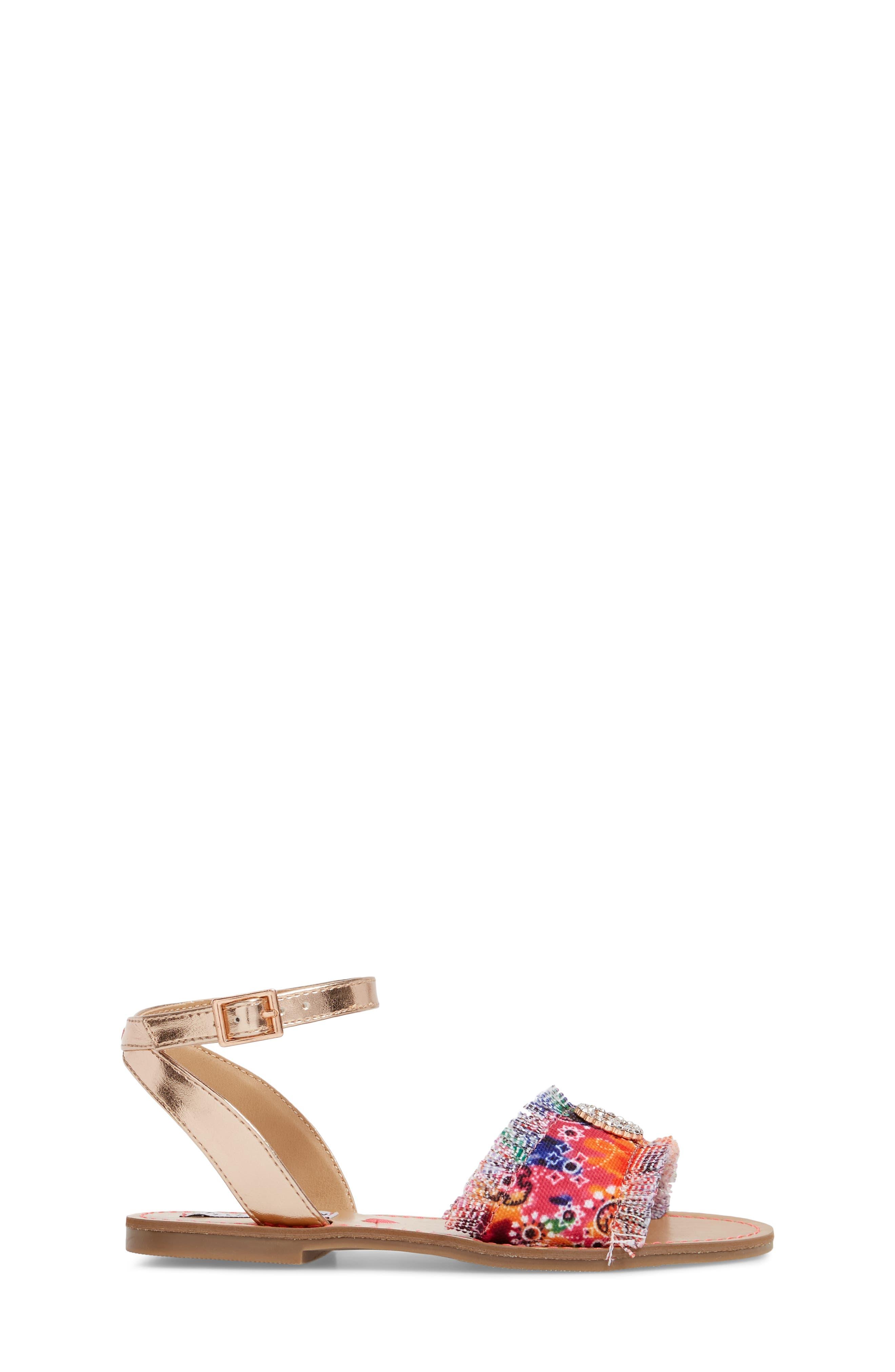 JVILLA Ankle Strap Sandal,                             Alternate thumbnail 3, color,                             Tie Dye
