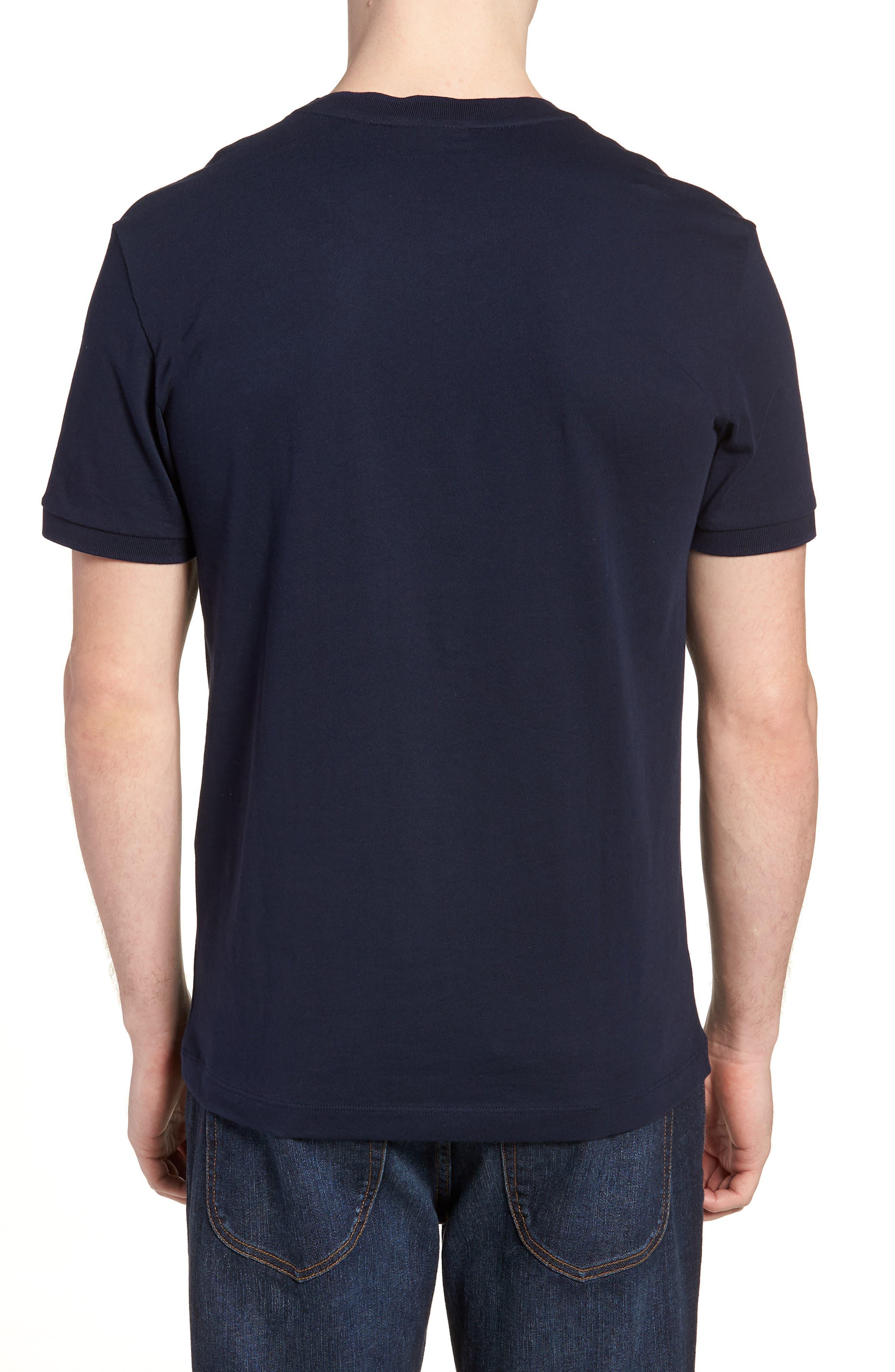 Vintage Croc Crewneck T-Shirt,                             Alternate thumbnail 2, color,                             Navy Blue