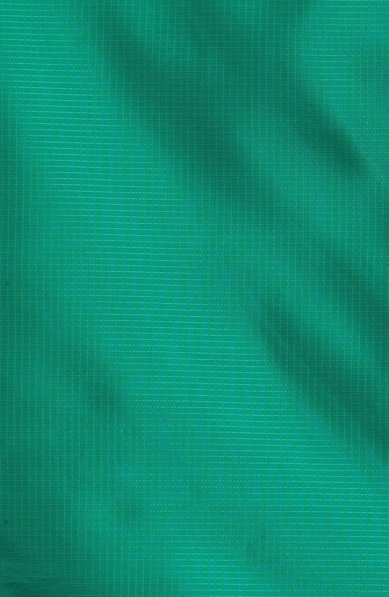 ID Wovenshell Anorak,                             Alternate thumbnail 5, color,                             Bold Green