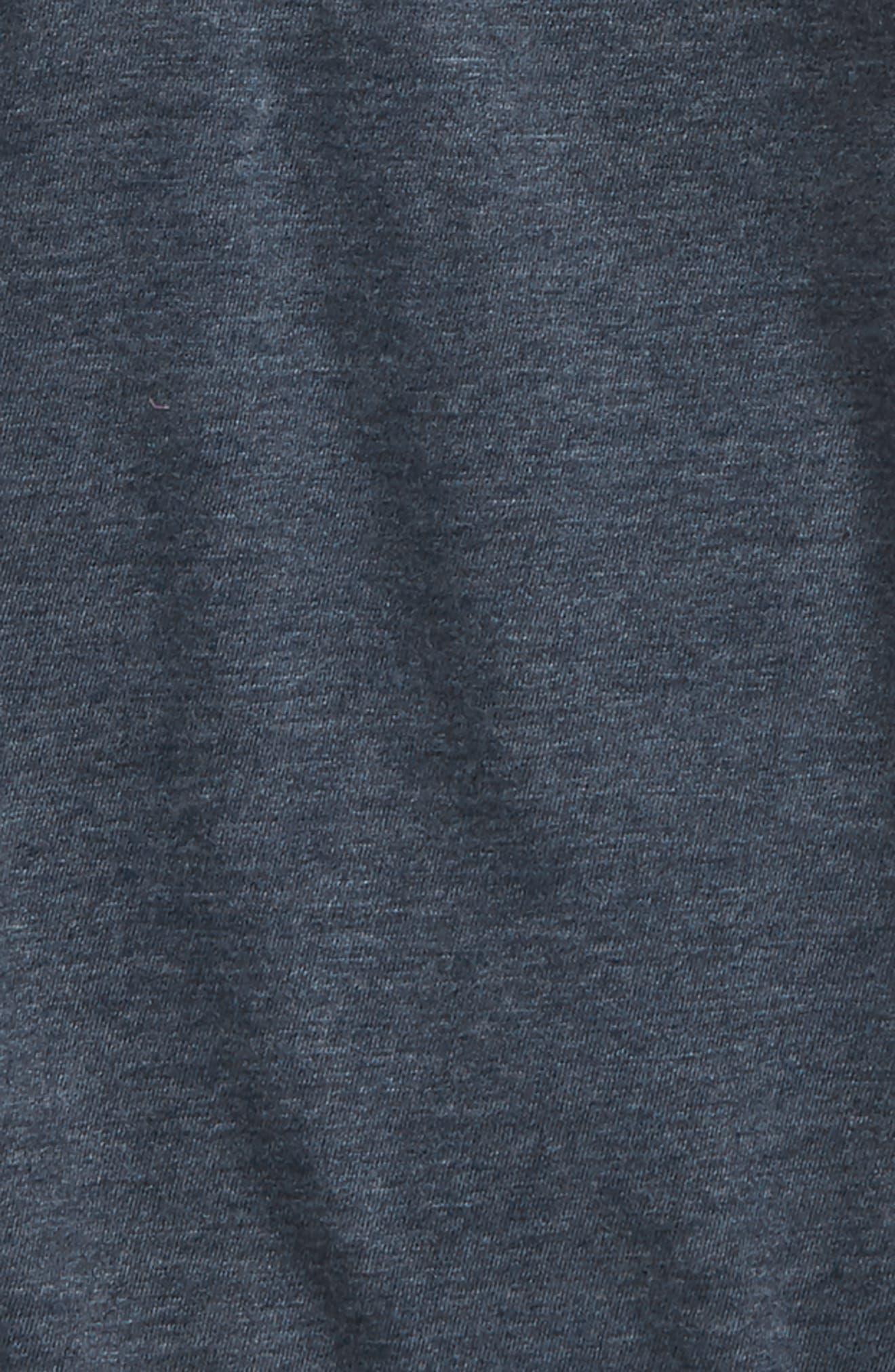 Baseball Henley,                             Alternate thumbnail 2, color,                             Navy Dress