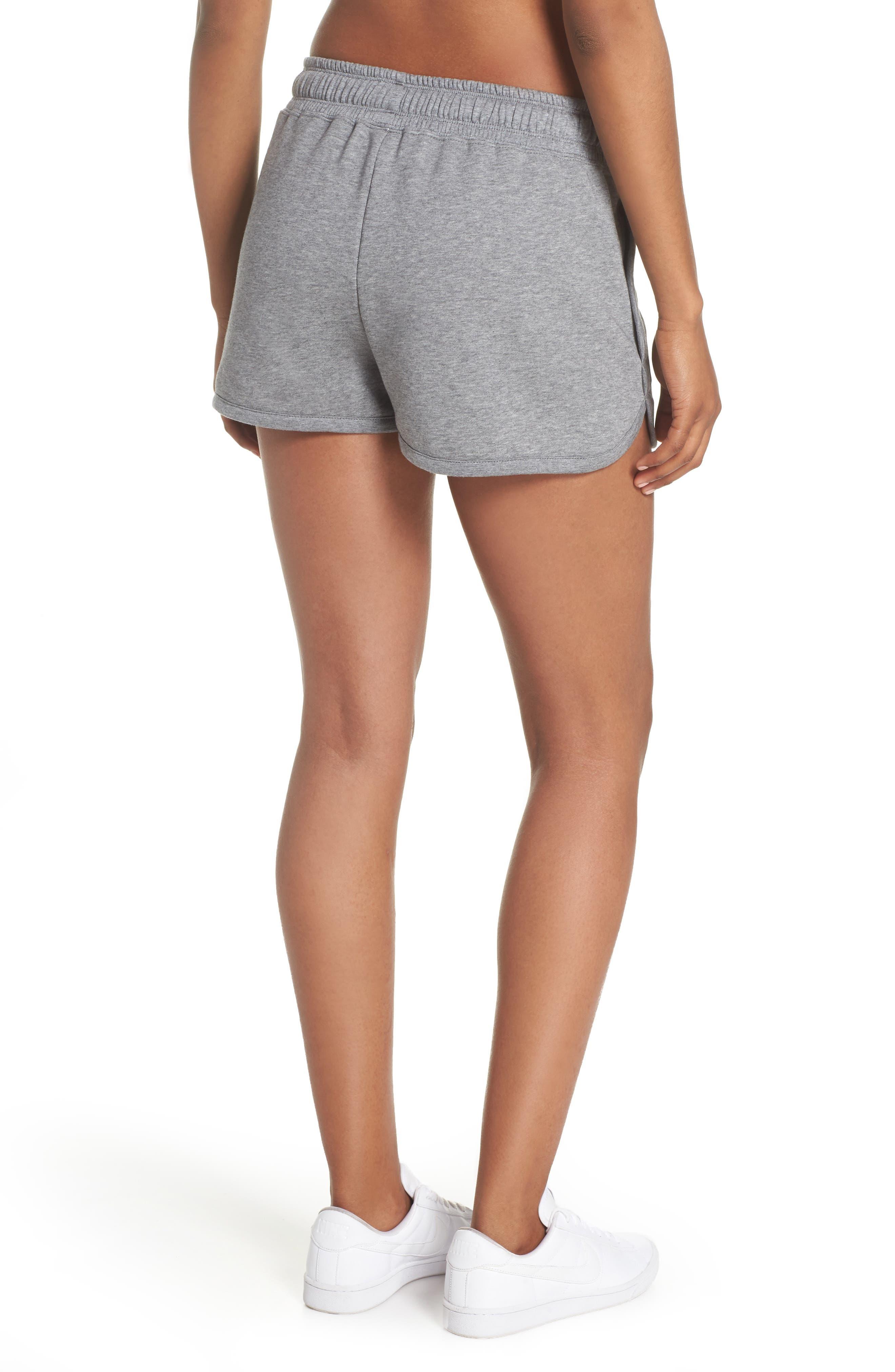 Sportswear Air Gym Shorts,                             Alternate thumbnail 2, color,                             Carbon Heather/ White/ Black