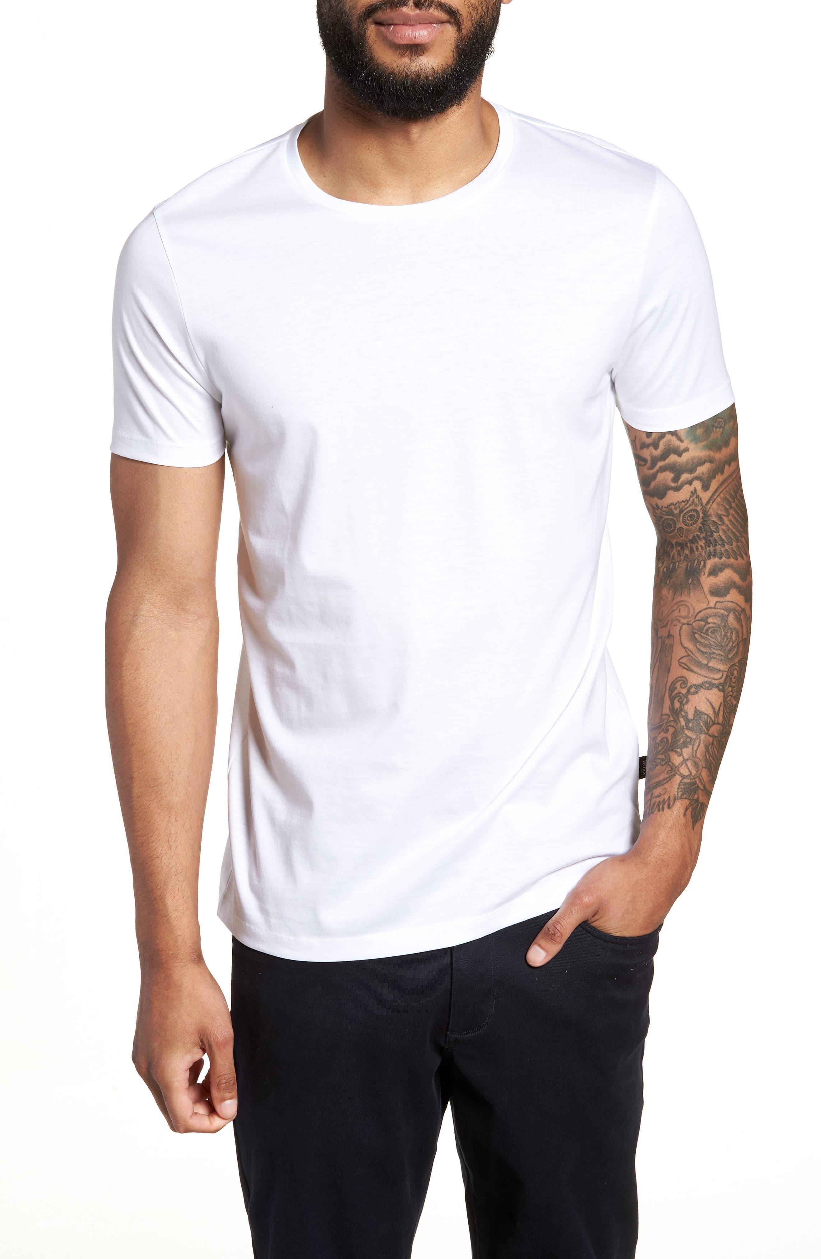 Tessler Crewneck T-Shirt,                         Main,                         color, White
