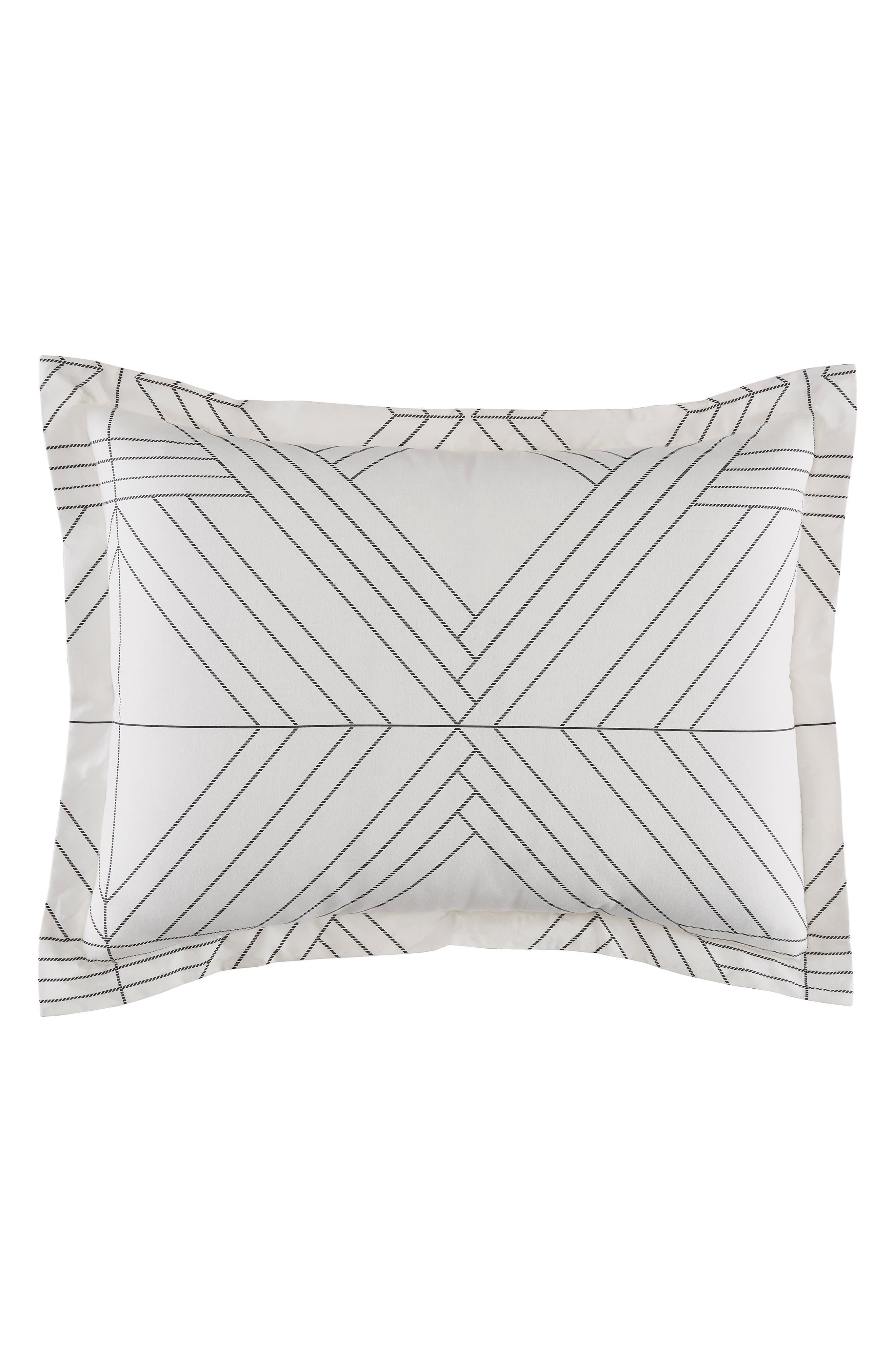 Alternate Image 2  - BCBGeneration Deco Diamonds Comforter Set