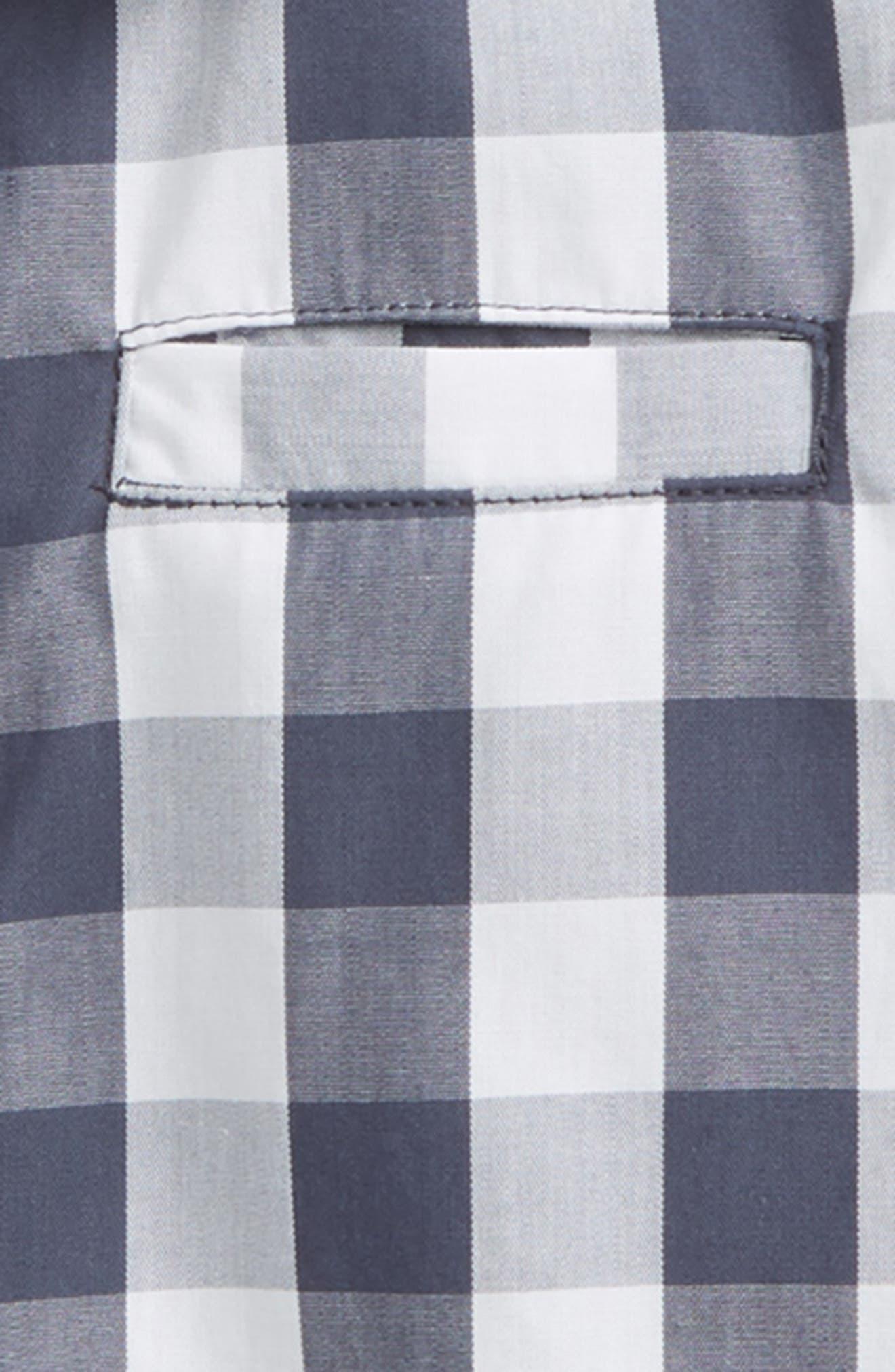 Ellias Check Shirt,                             Alternate thumbnail 2, color,                             Greyblue