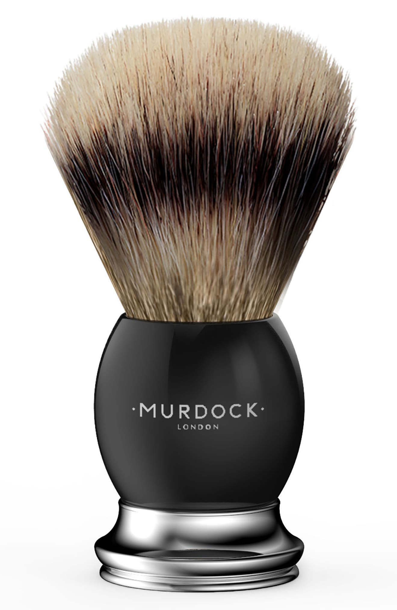 Alternate Image 1 Selected - Murdock London Windsor Silver Badger Brush (Nordstrom Exclusive)