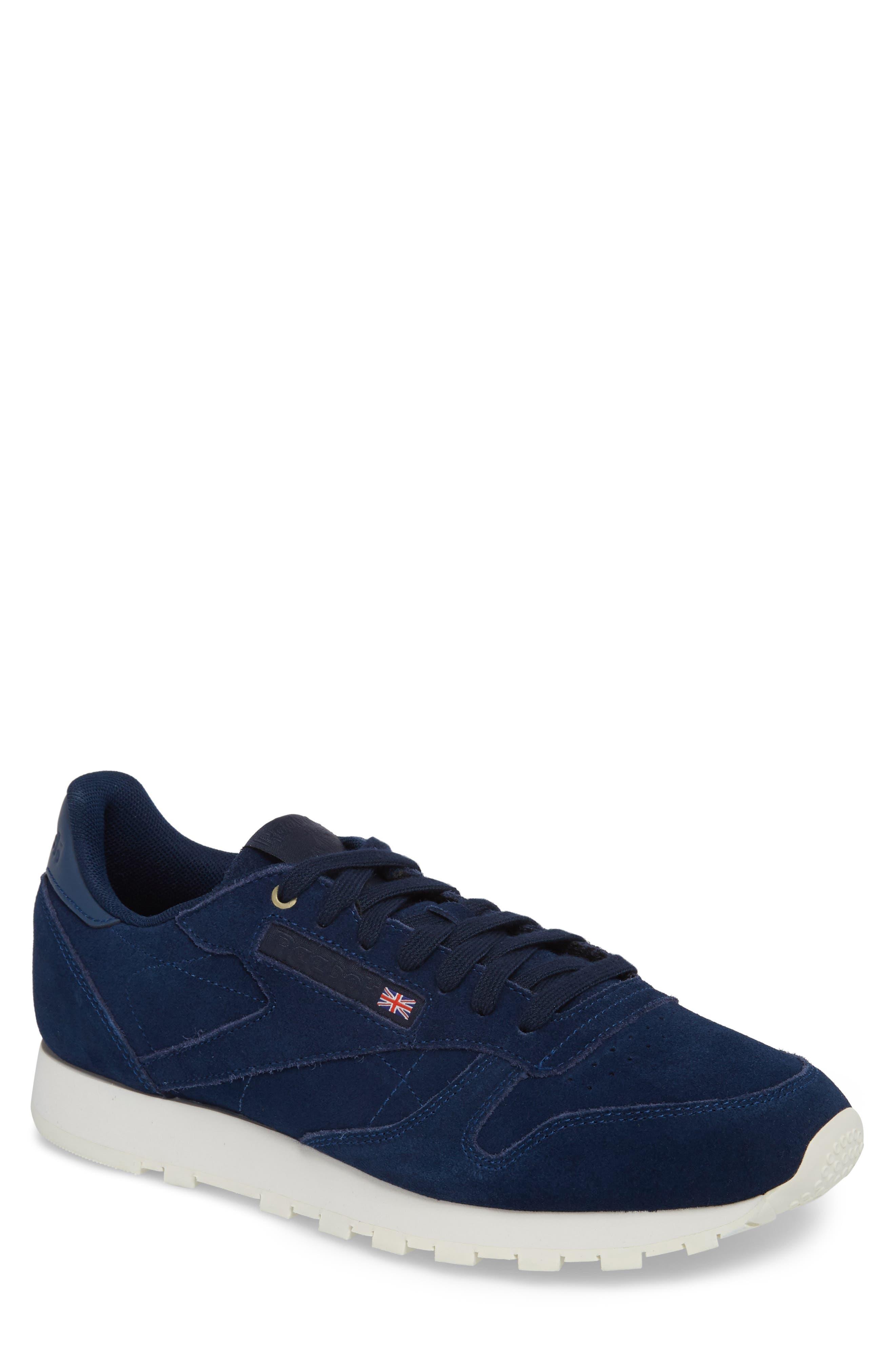 Reebok Classic Leather Low Top Sneaker (Men)