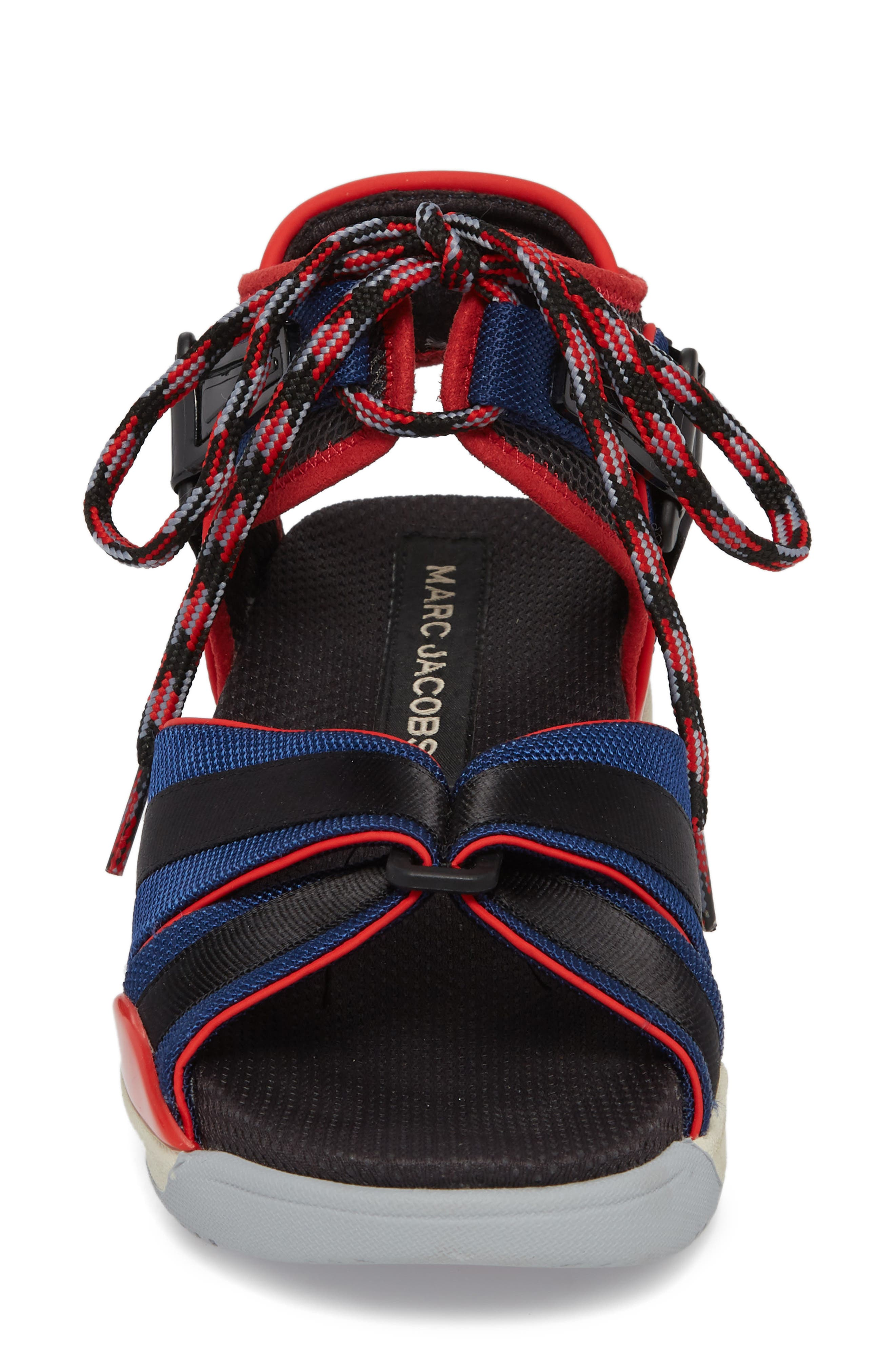 Somewhere Sport Sandal,                             Alternate thumbnail 4, color,                             Red Multi