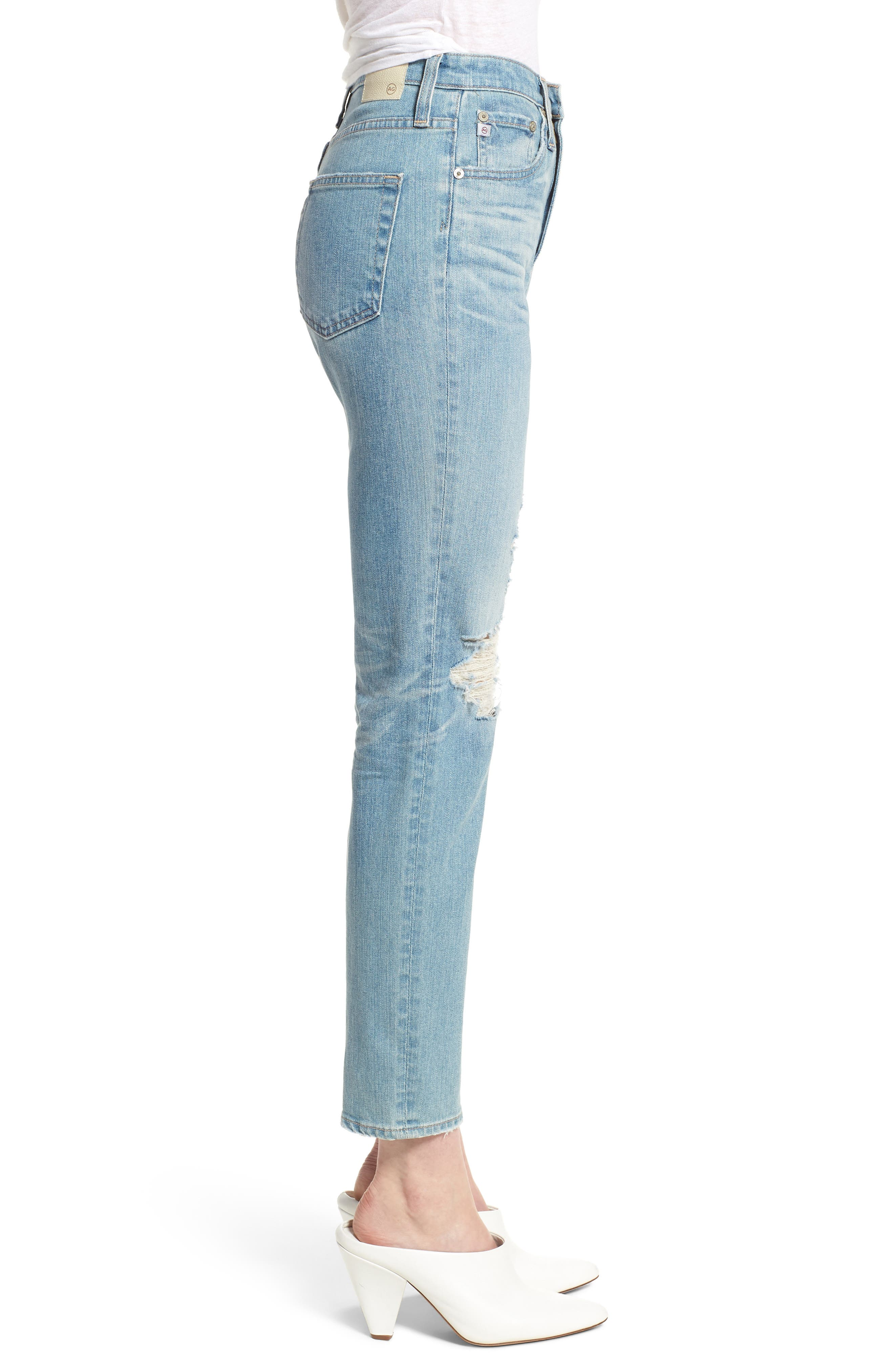 'The Phoebe' Vintage High Rise Straight Leg Jeans,                             Alternate thumbnail 3, color,                             18 Years Headlands