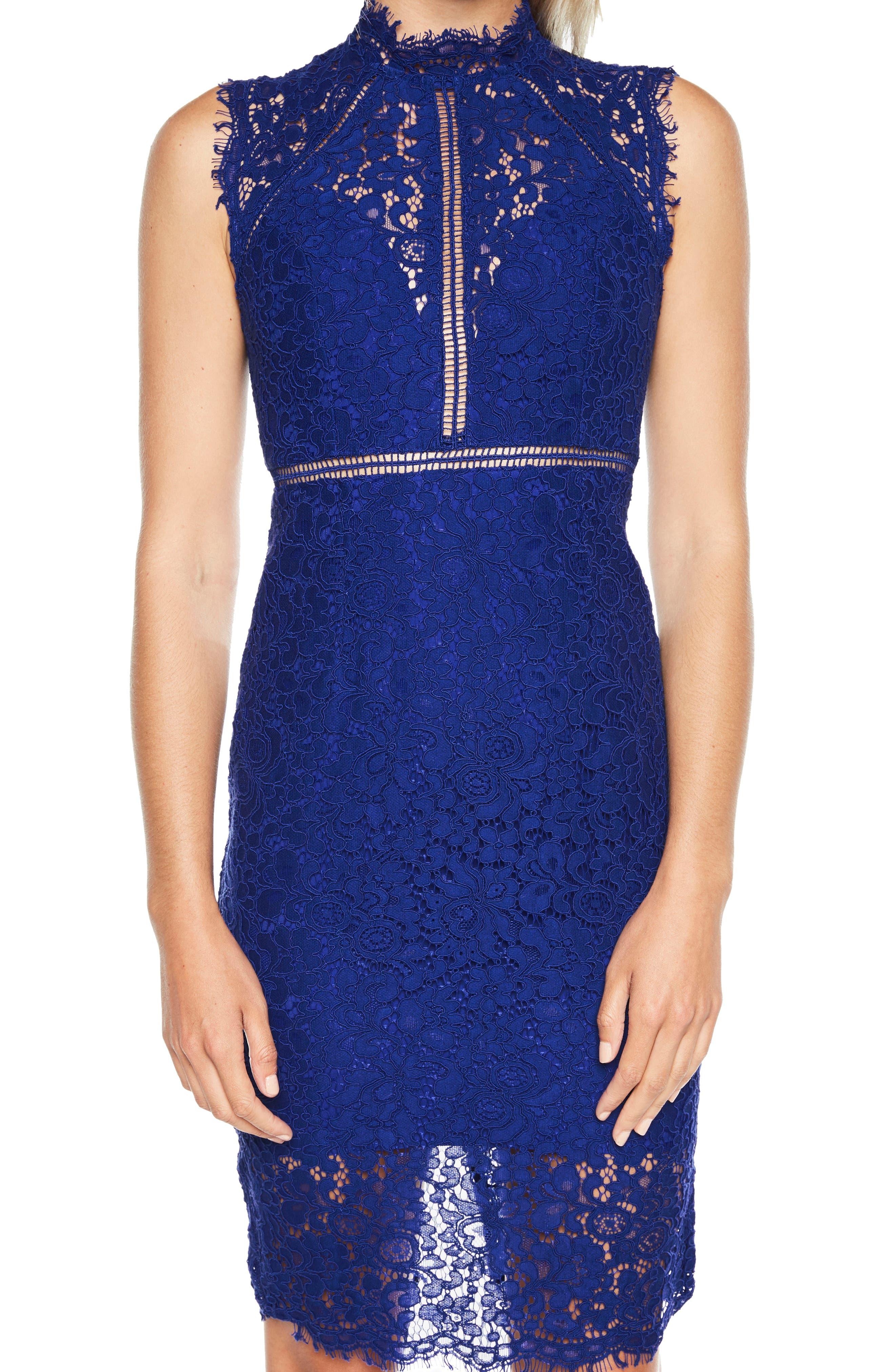 Alternate Image 4  - Bardot Lace Sheath Dress