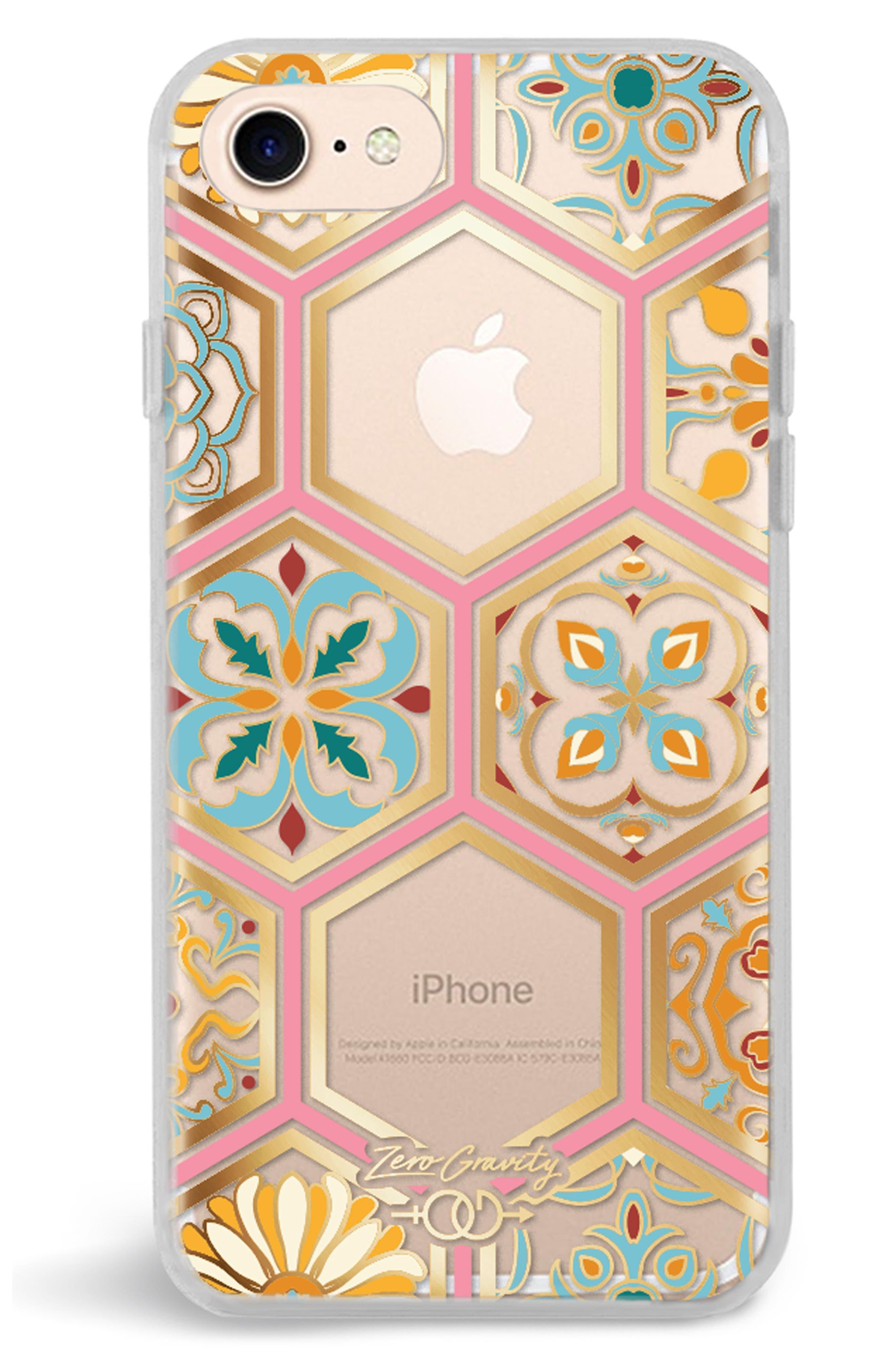 Imperial iPhone 7/8 & 7/8 Plus Case,                             Alternate thumbnail 3, color,                             Clear Multi