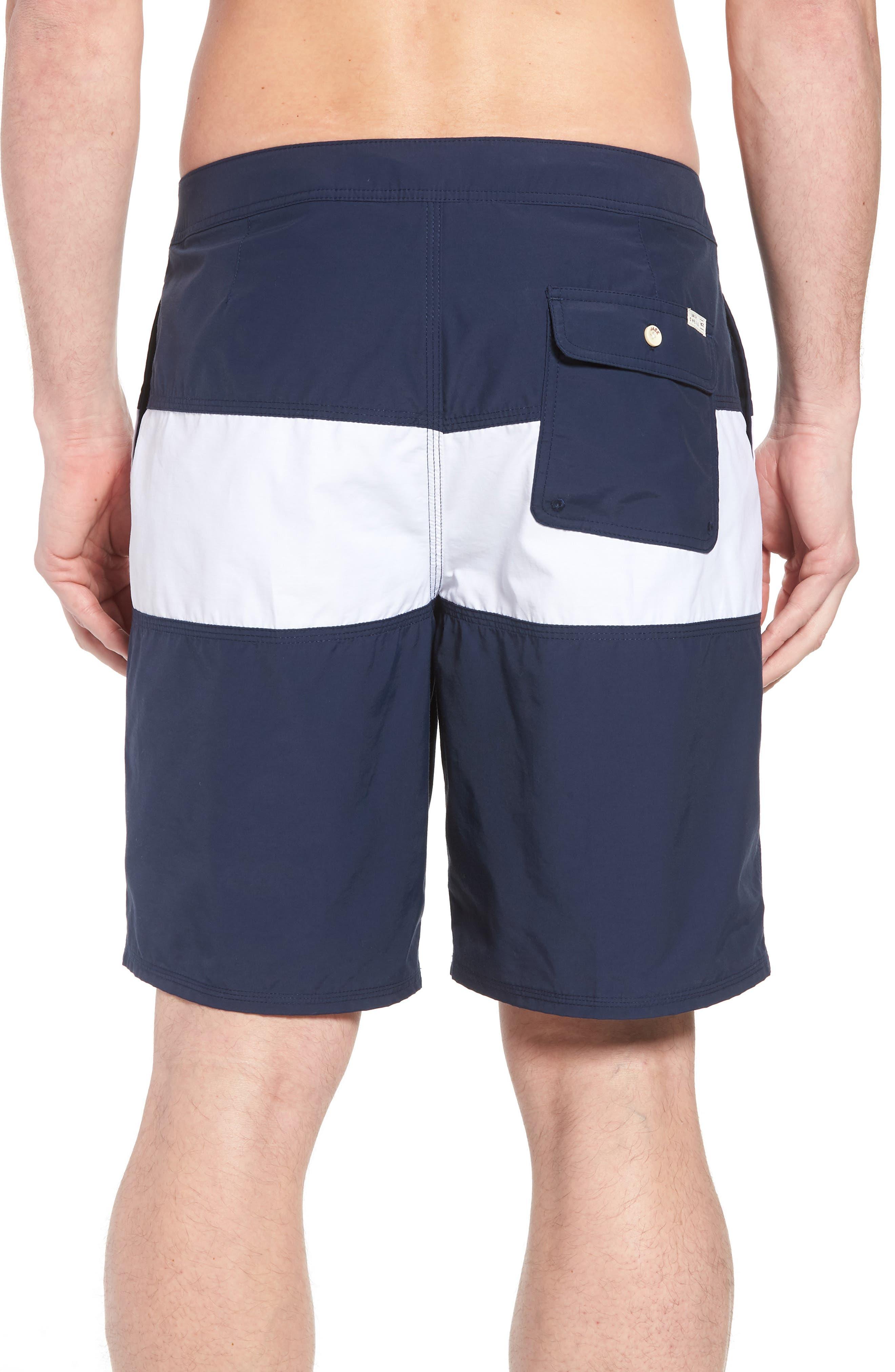 Heritage Board Shorts,                             Alternate thumbnail 2, color,                             Navy