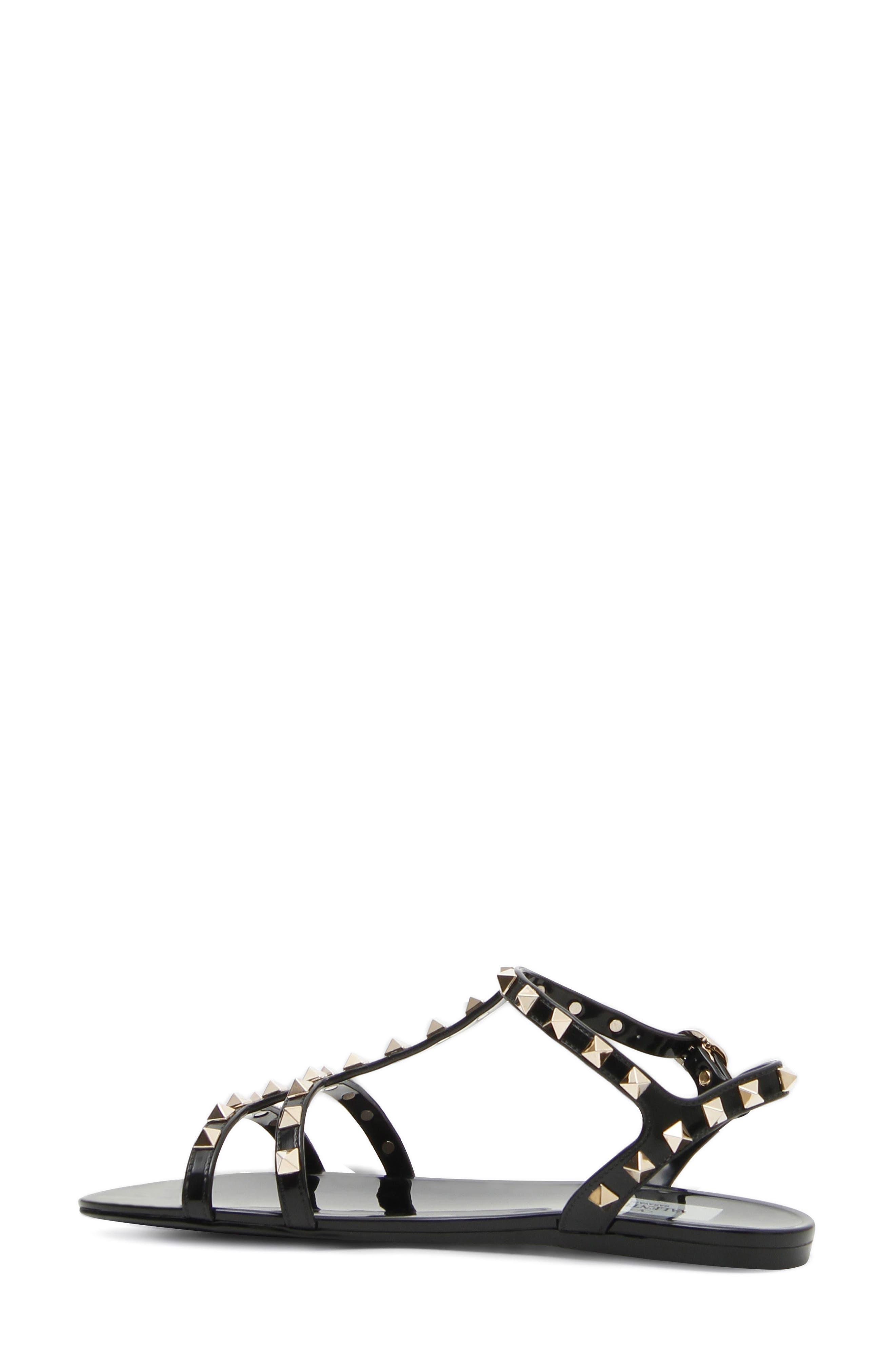 Alternate Image 2  - VALENTINO GARAVANI Rockstud T-Strap Sandal (Women)