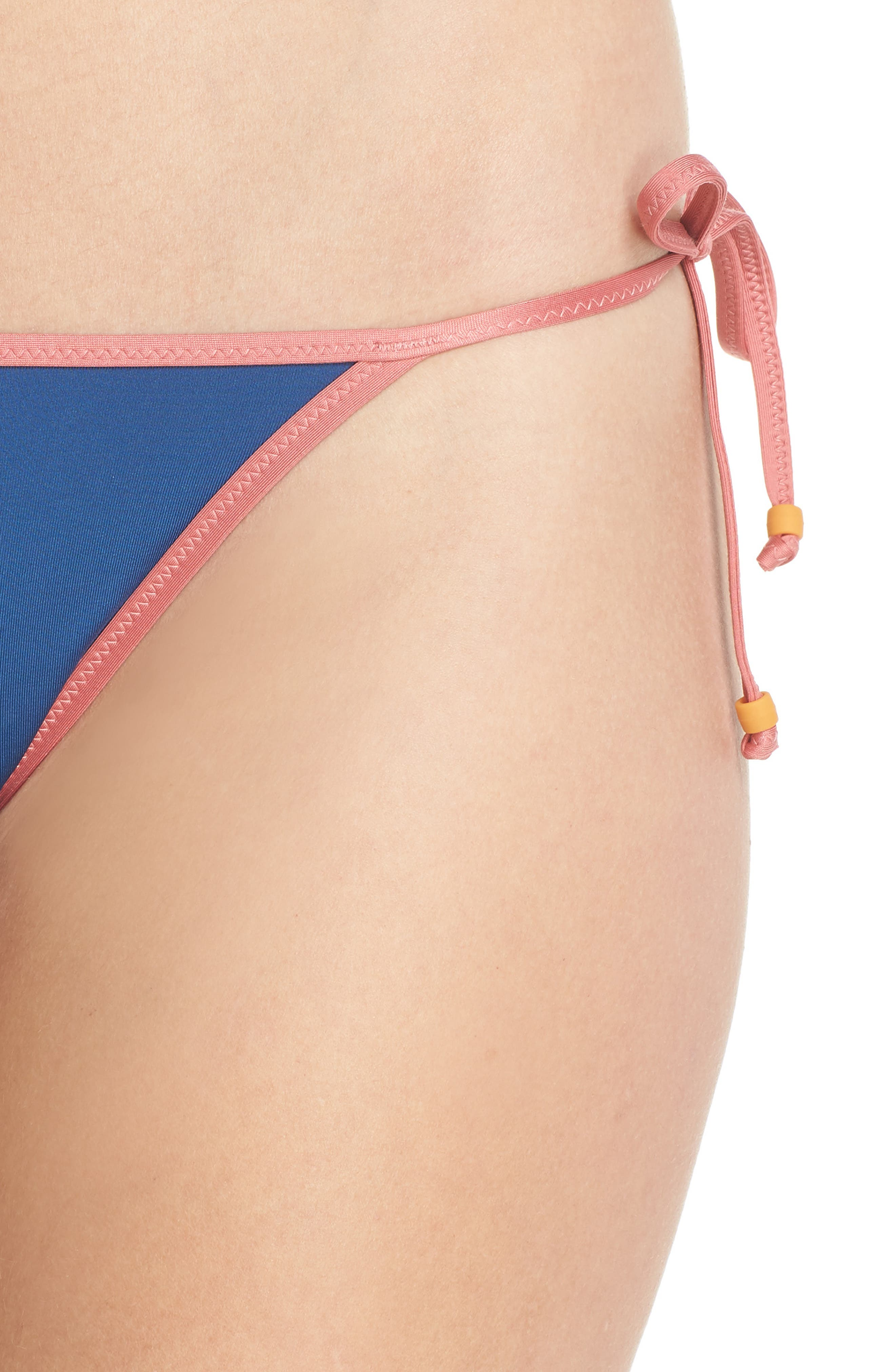 Playa Miami String Bikini Bottoms,                             Alternate thumbnail 4, color,                             Pacific Ocean Multi