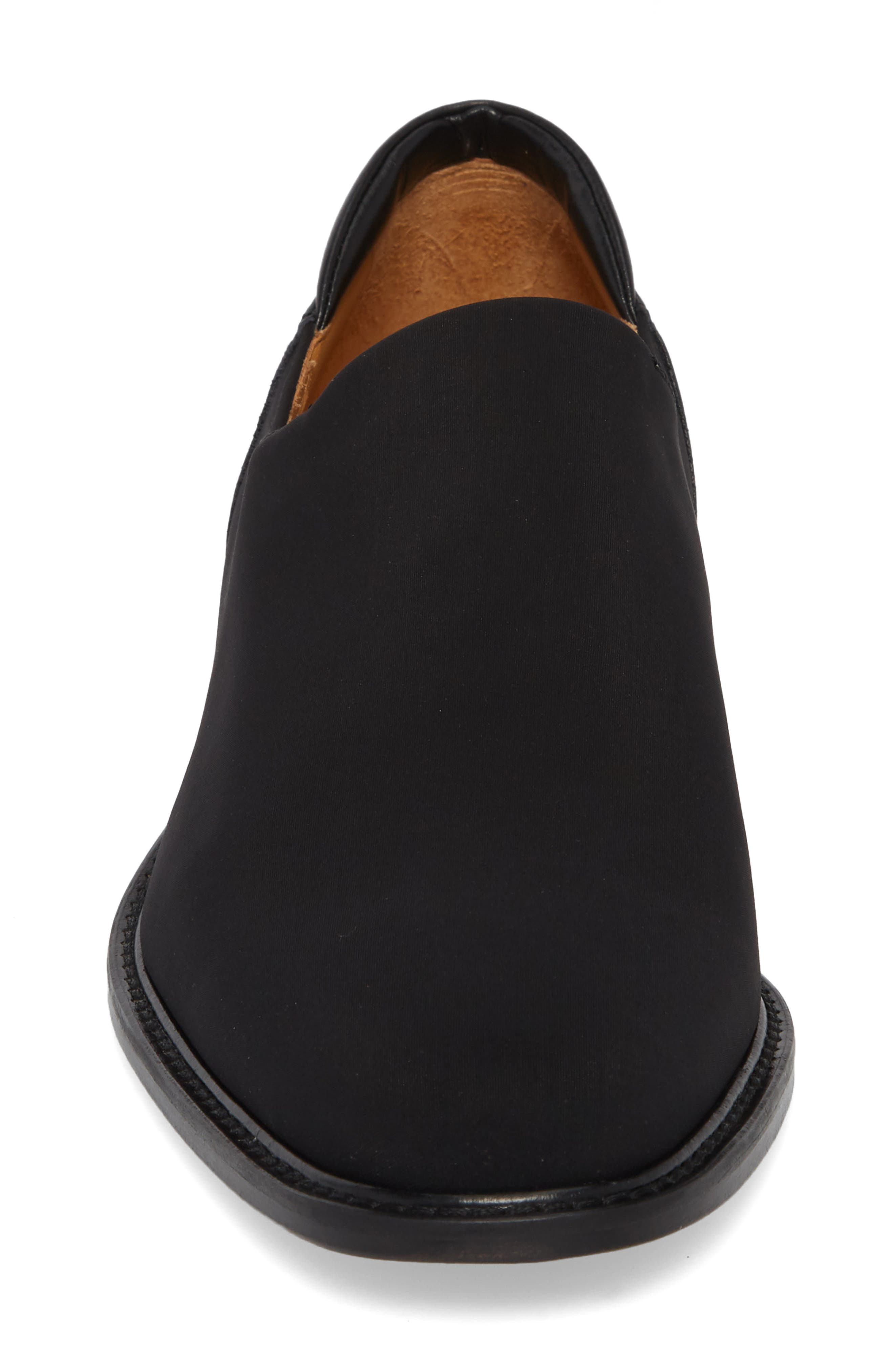 Iggy Slip-On,                             Alternate thumbnail 4, color,                             Black Fabric