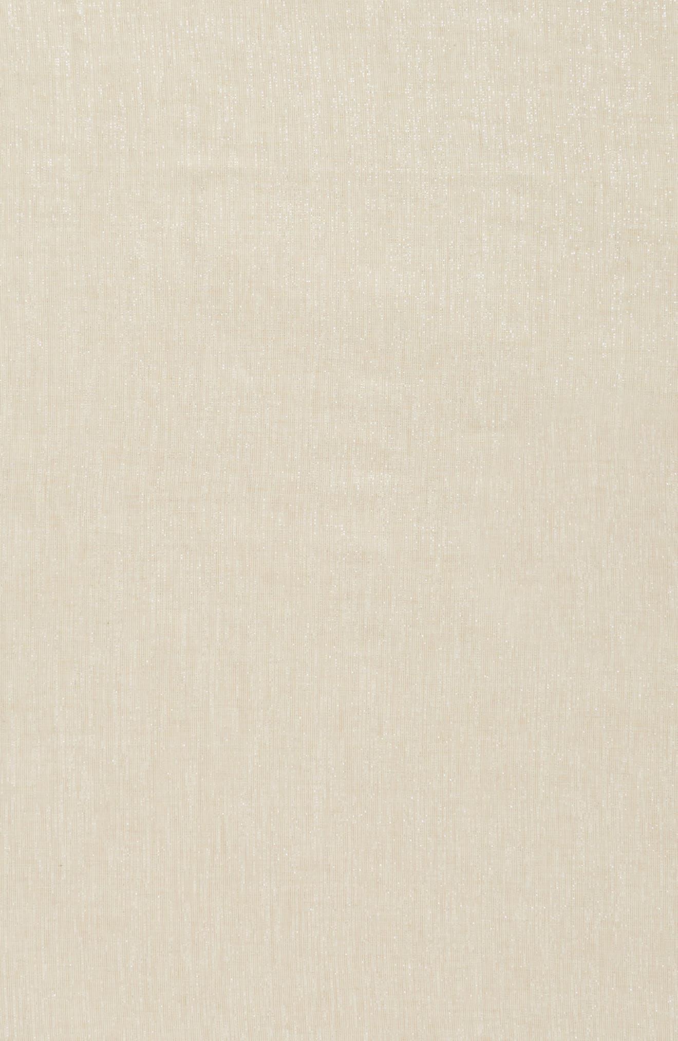 Organic Cotton Blend Wrap,                             Alternate thumbnail 4, color,                             Natural