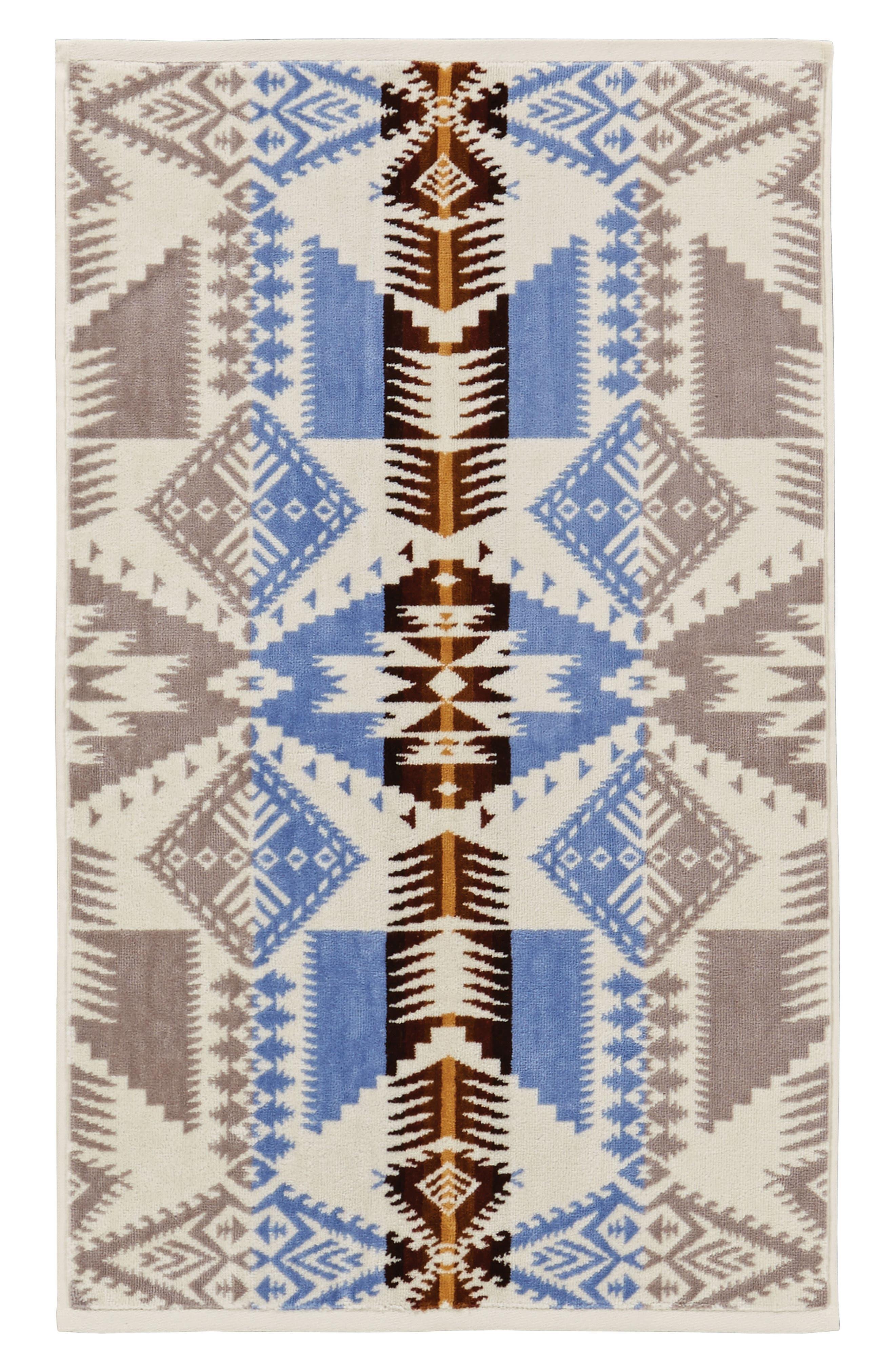 Silver Bark Hand Towel,                             Main thumbnail 1, color,                             Silver Bark