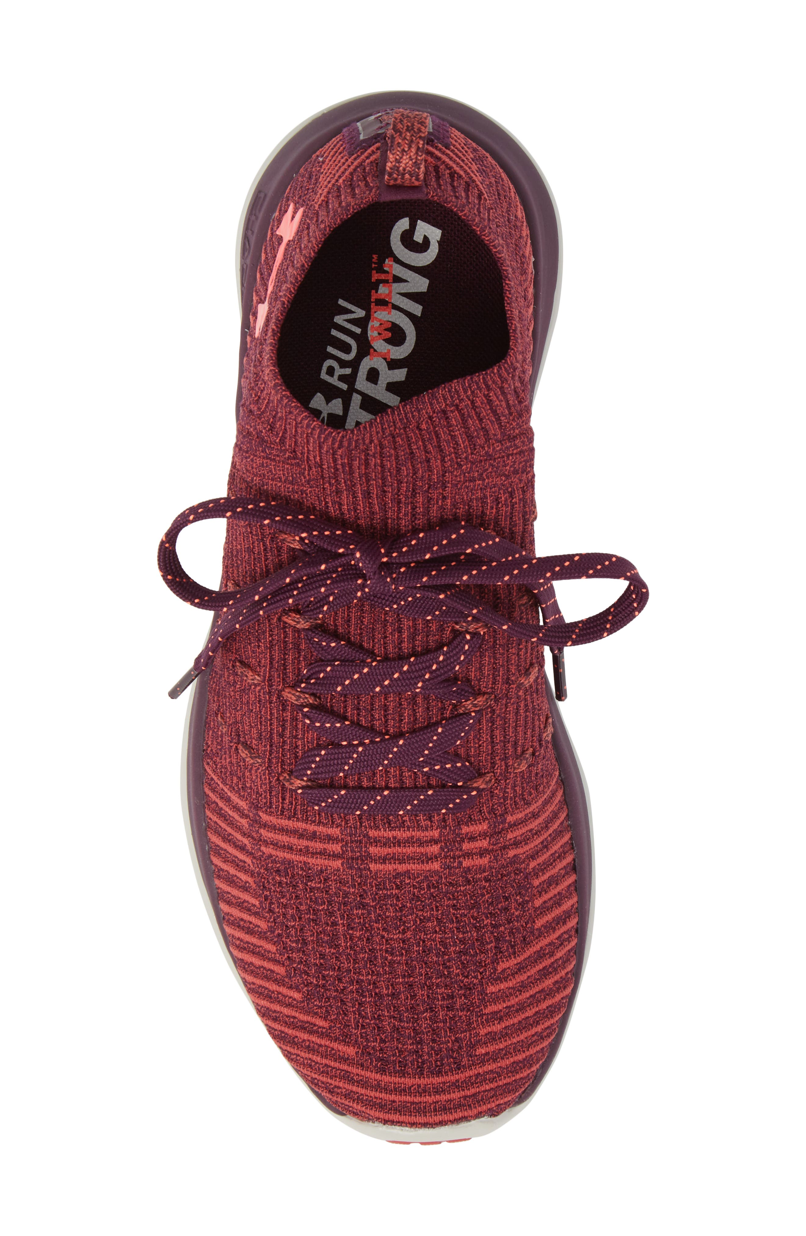 Slingflex Rise Sneaker,                             Alternate thumbnail 5, color,                             Merlot/ Rustic Red/ Brilliance
