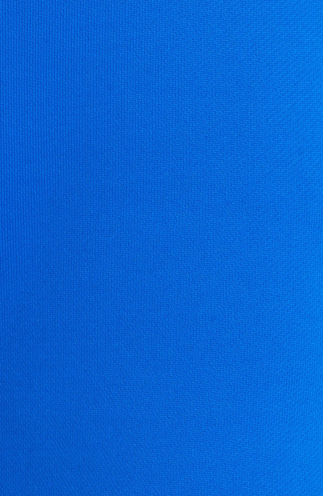 NikeLab Collection Women's Fleece Shorts,                             Alternate thumbnail 6, color,                             Hyper Cobalt/ Black