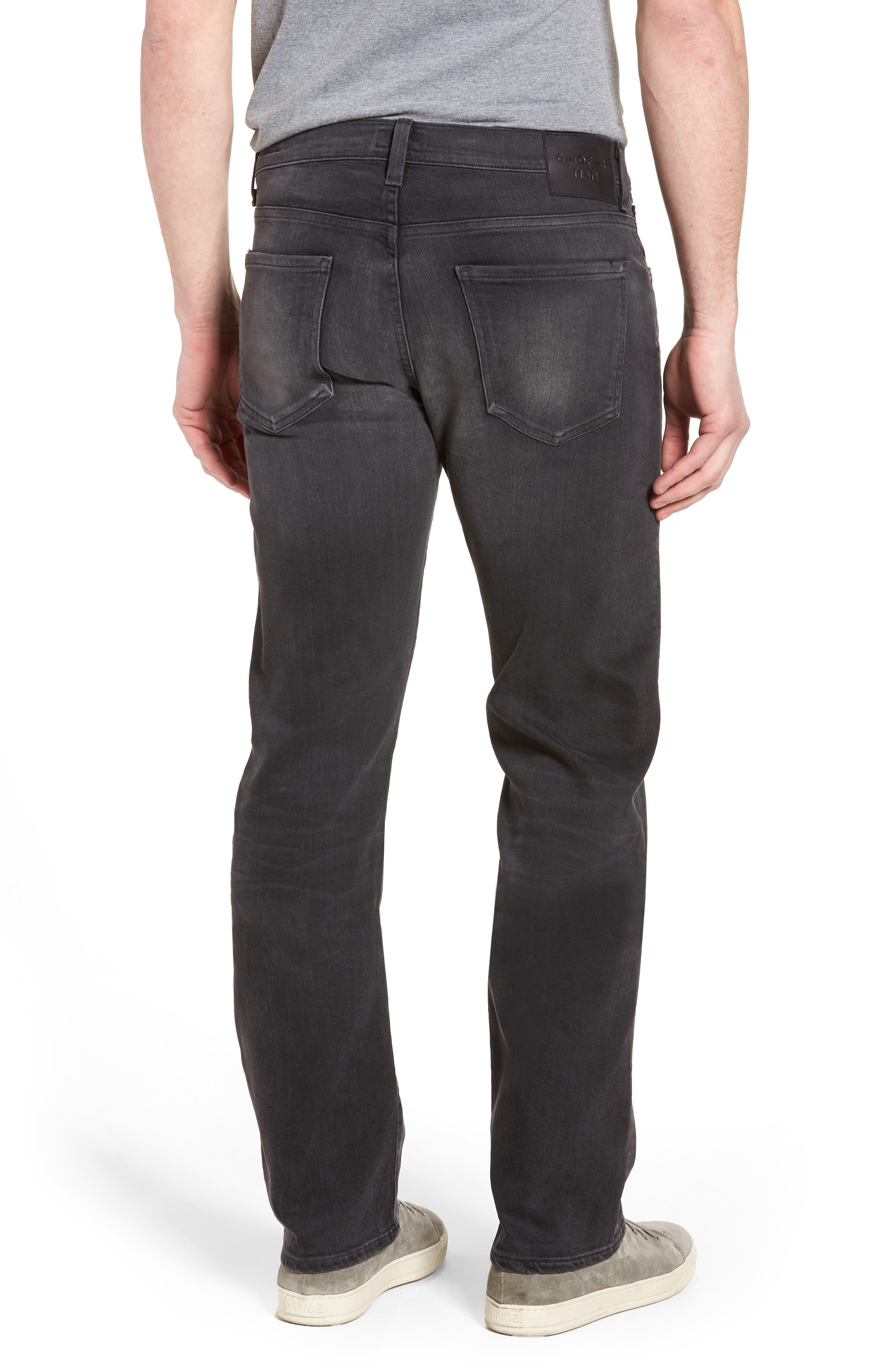 Side Straight Leg Jeans,                             Alternate thumbnail 2, color,                             Lyric