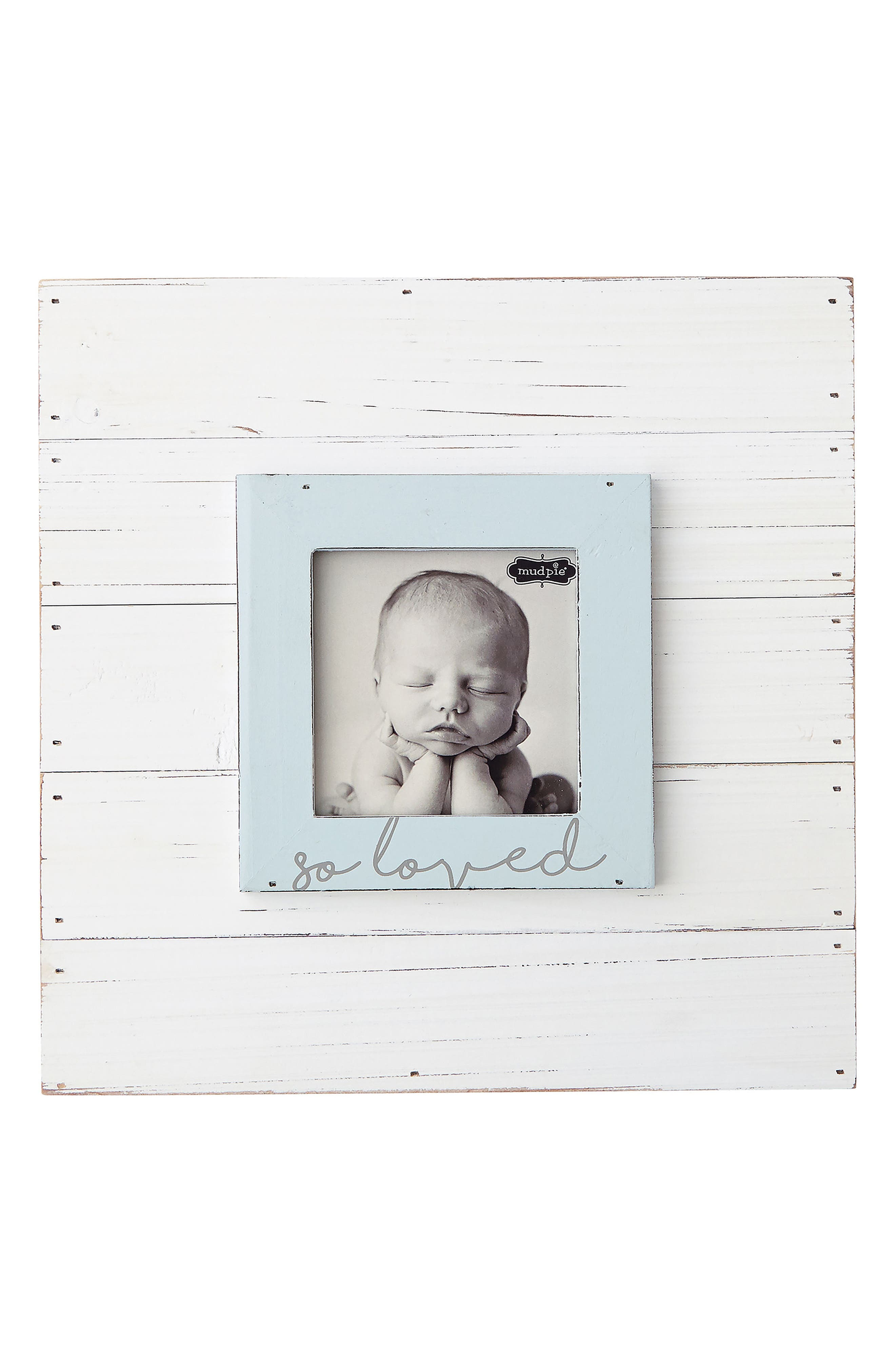 Mud Pie So Loved Wood Picture Frame