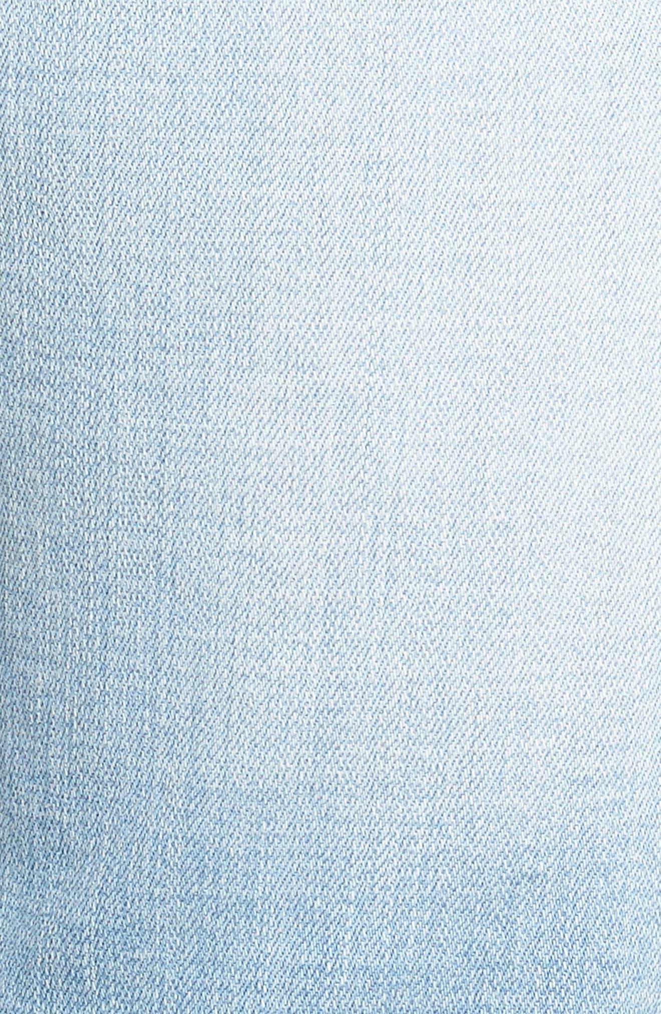 Jeans Co. Straight Leg Jeans,                             Alternate thumbnail 5, color,                             Riverside Light