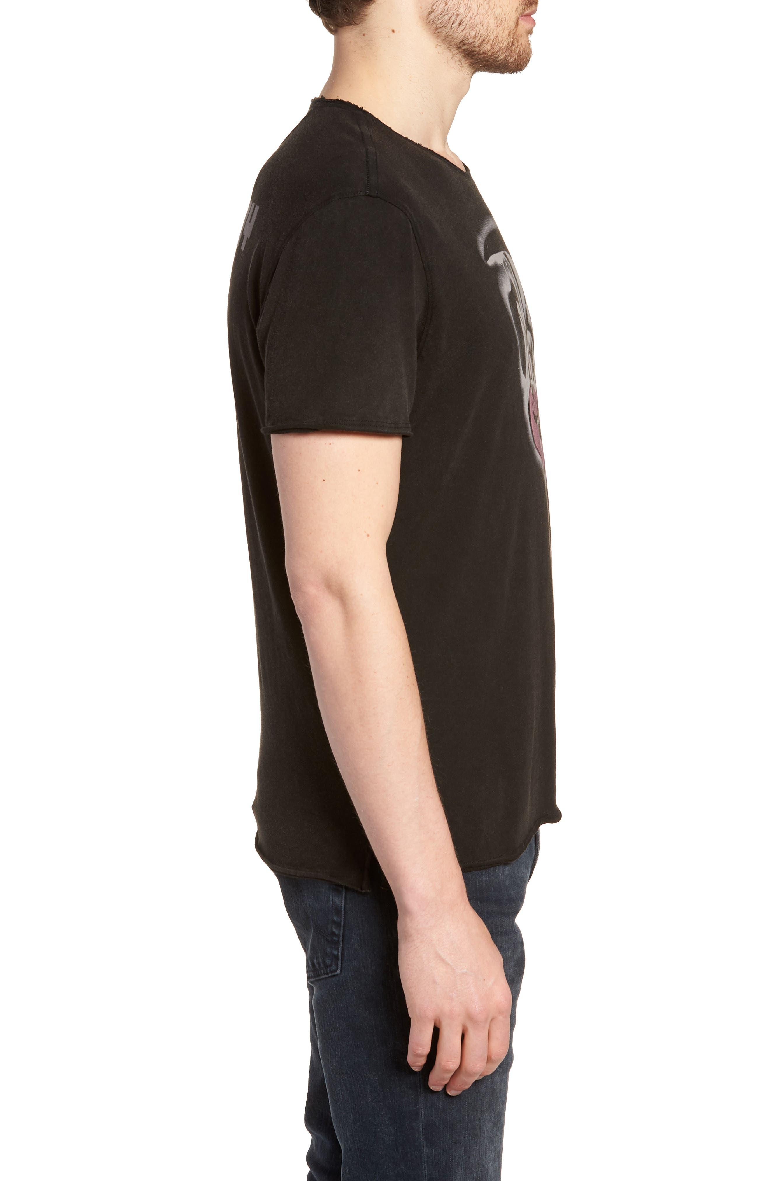 Green Day T-Shirt,                             Alternate thumbnail 3, color,                             Black