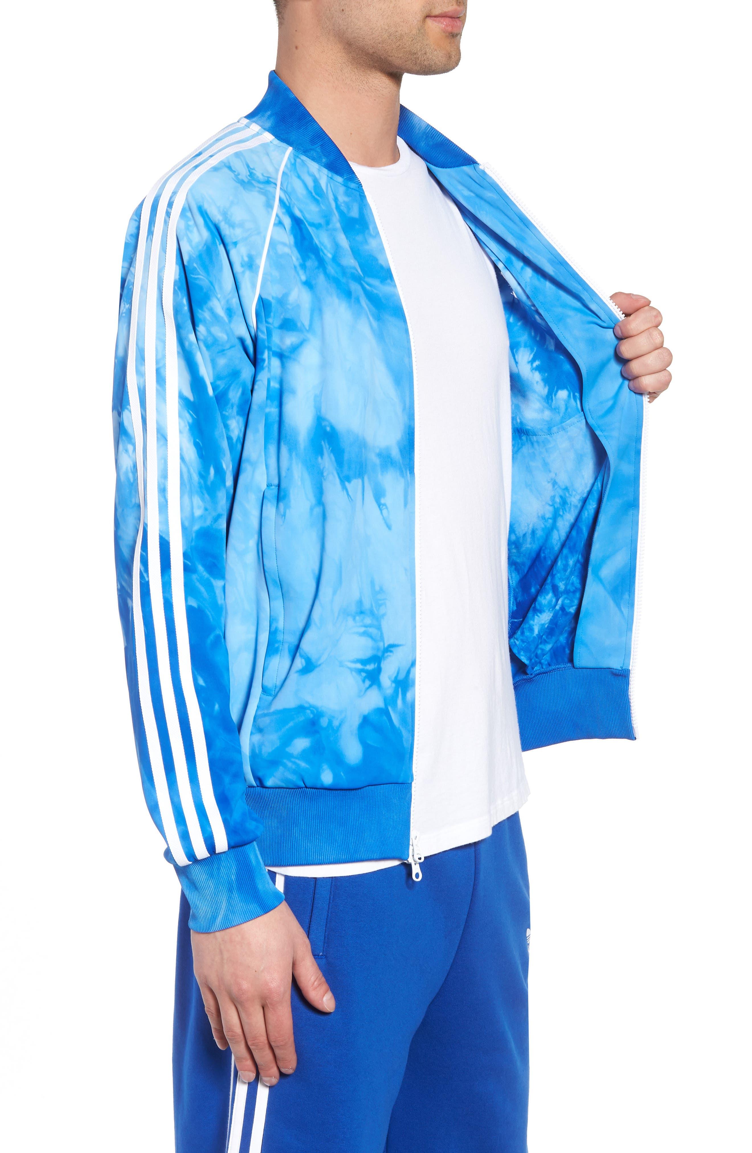 Hu Holi Track Jacket,                             Alternate thumbnail 3, color,                             Blue