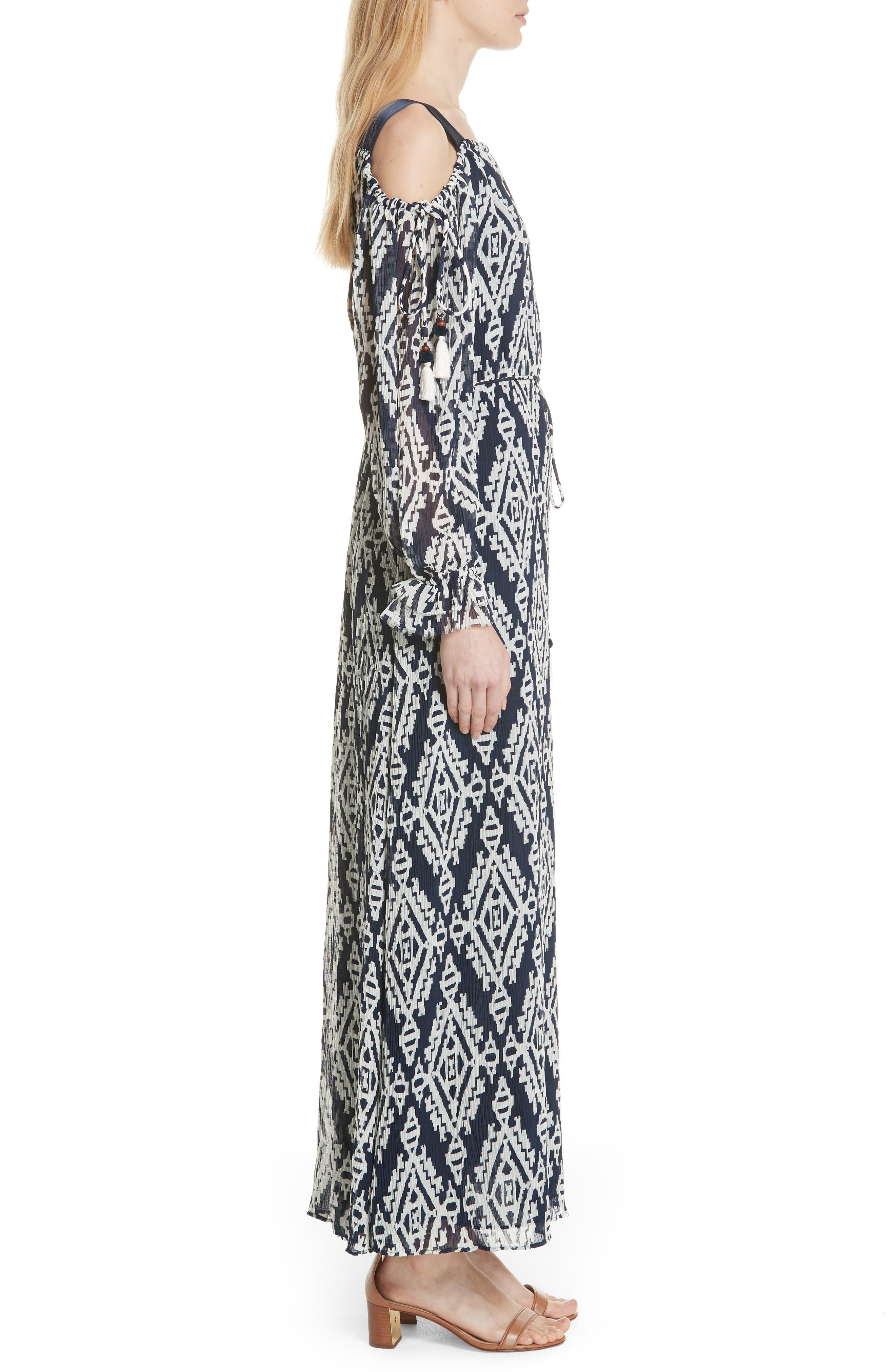 Katherine Maxi Dress,                             Alternate thumbnail 3, color,                             Tapestry Geo